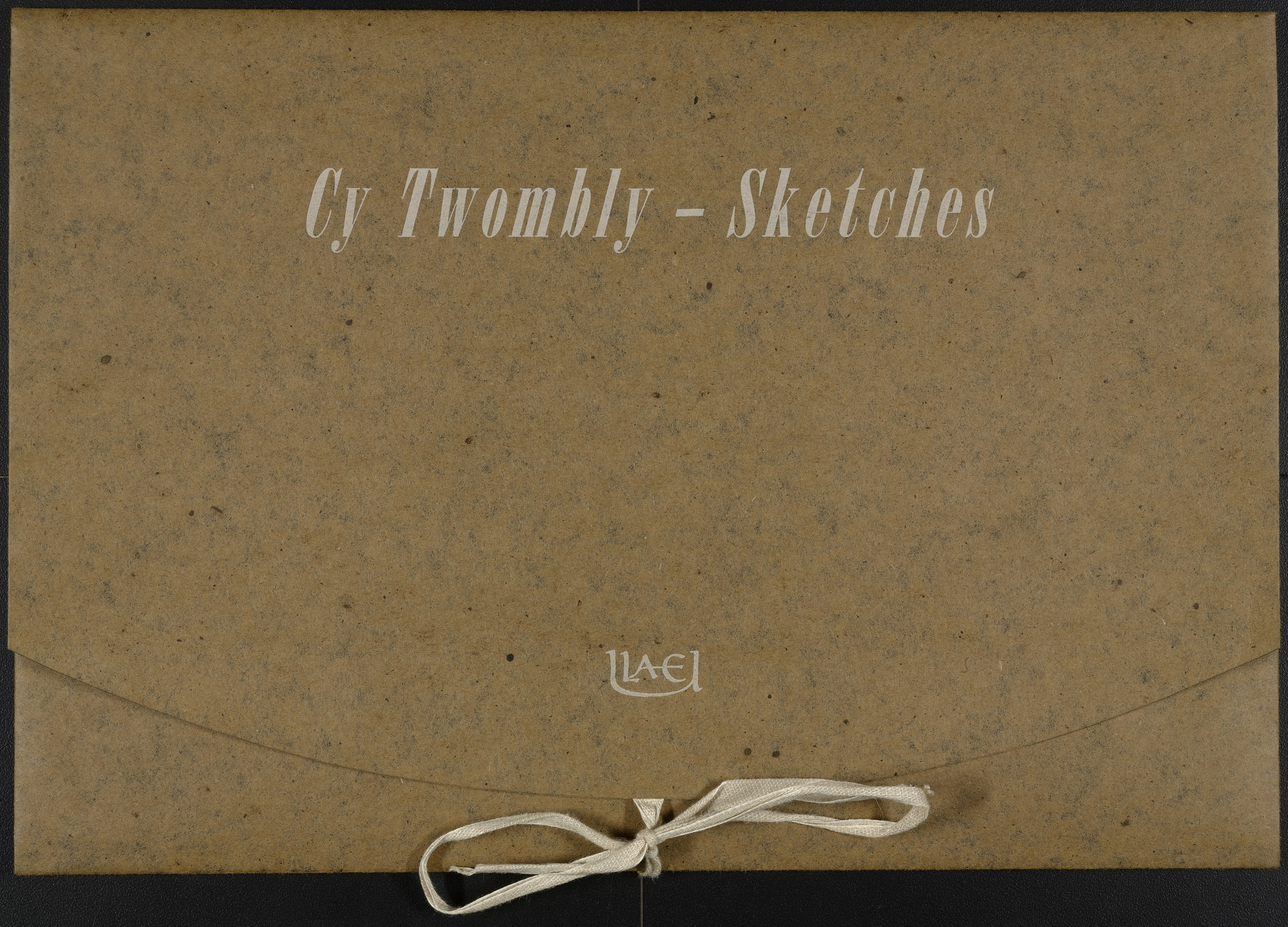 Cy Twombly. Sketches. 1967, published 1975