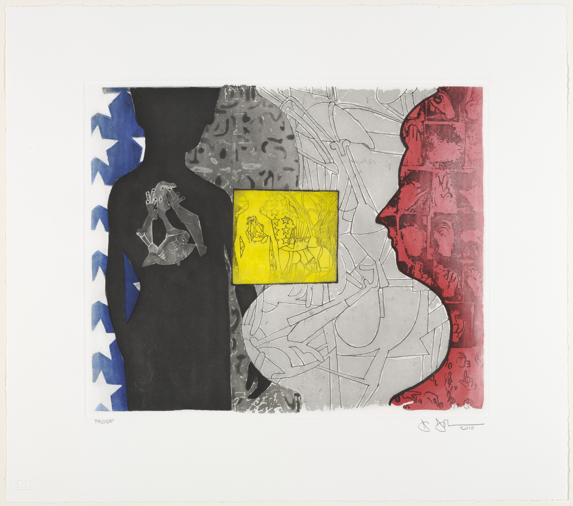 Jasper Johns. Untitled. 2010