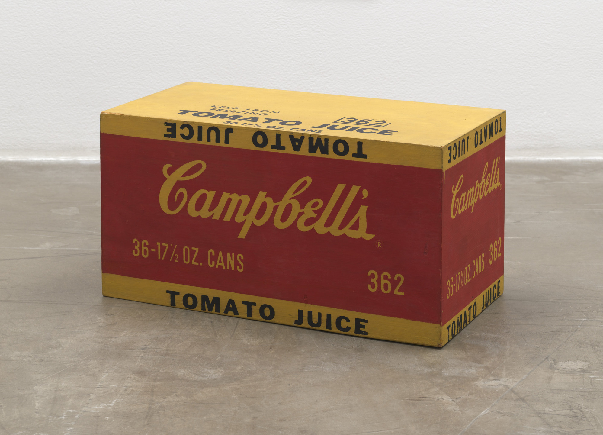 Andy Warhol. Campbell's Tomato Juice Box. 1964
