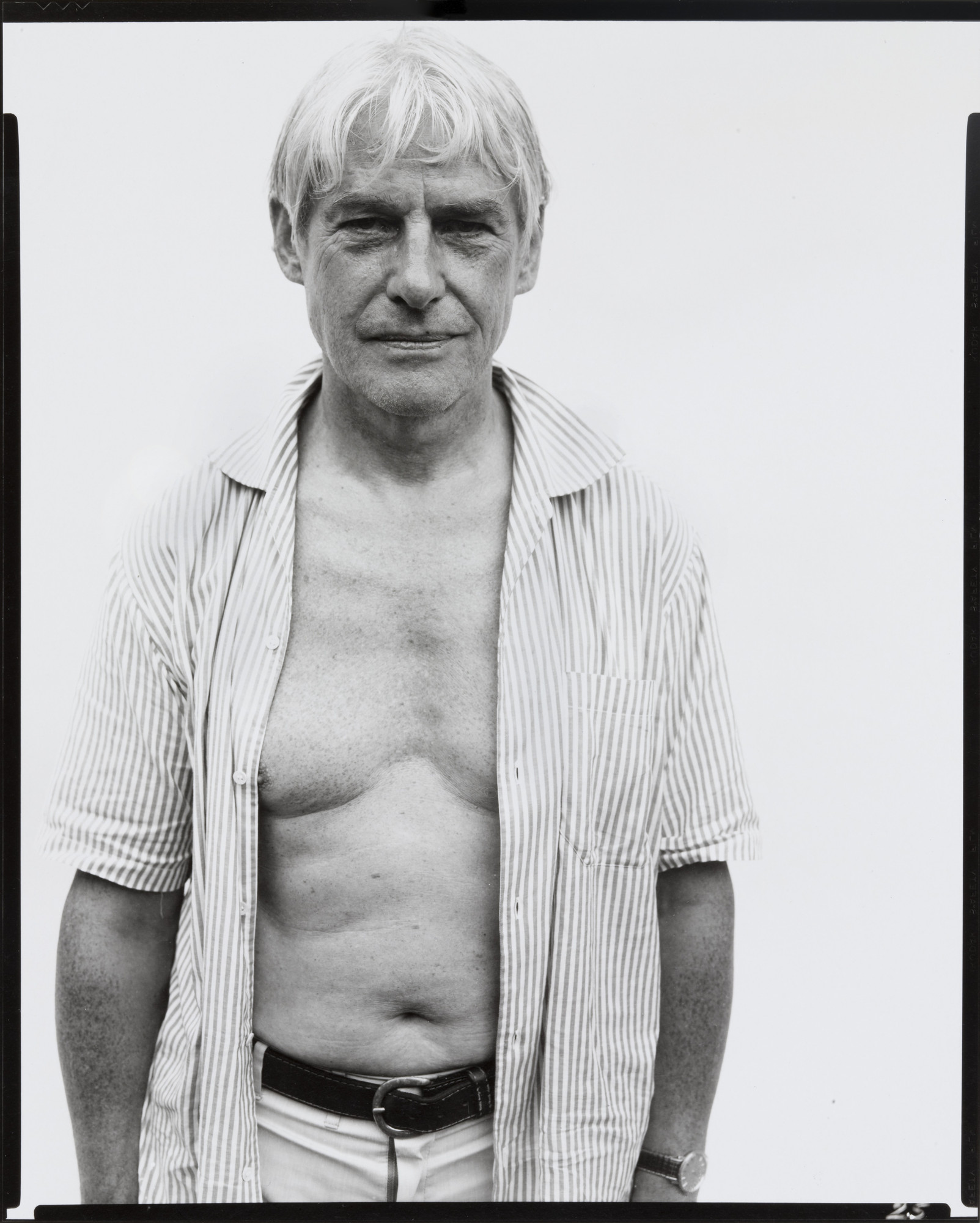 Richard Avedon. Willem de Kooning. 1971