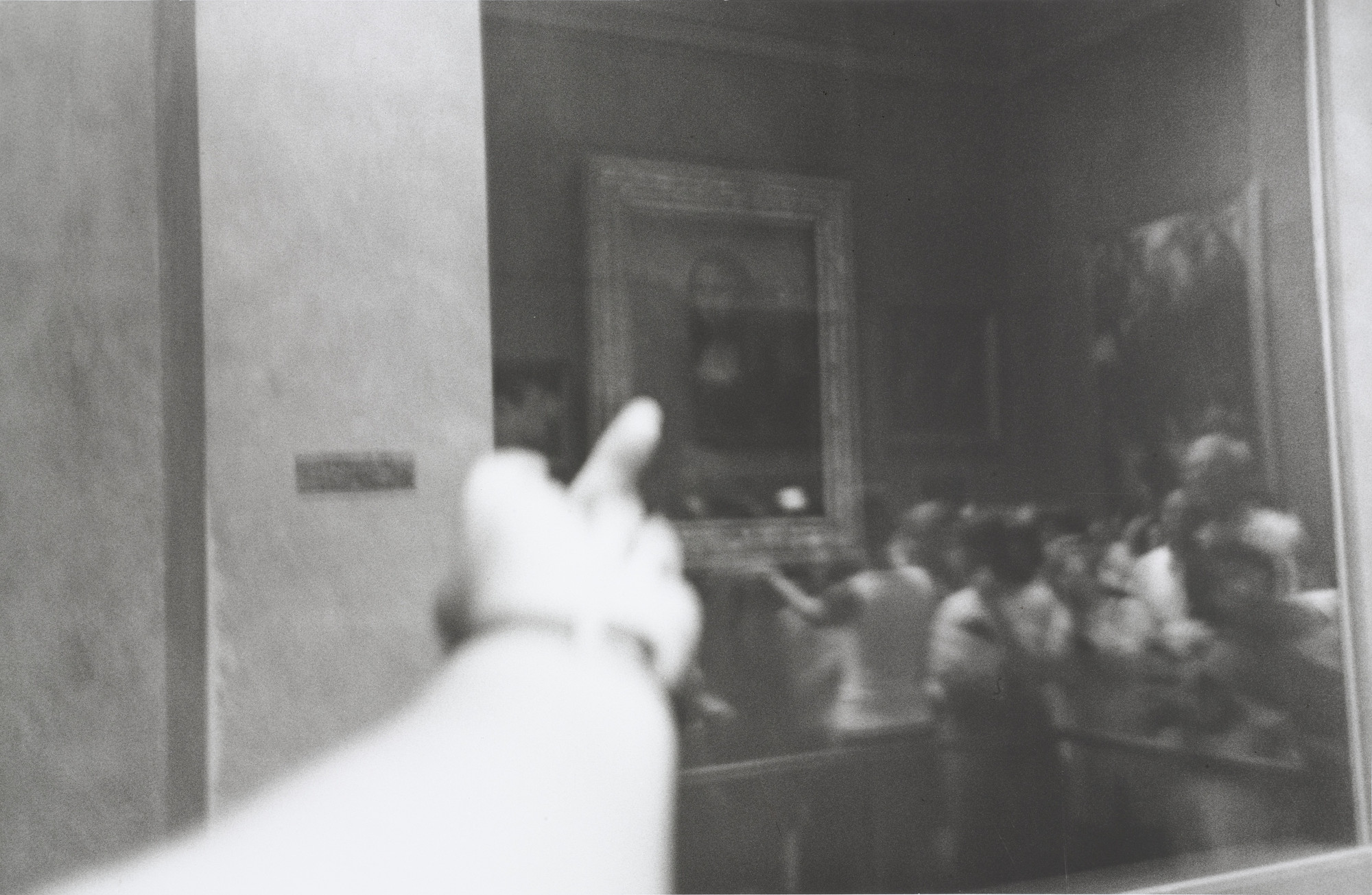 Ai Weiwei. Study of Perspective - Mona Lisa. 1995-2003