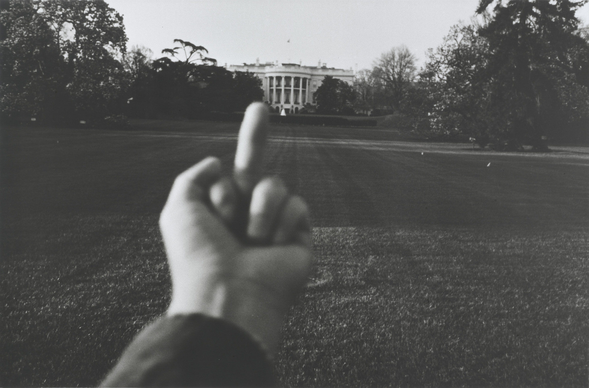 Ai Weiwei. Study of Perspective - White House. 1995-2003