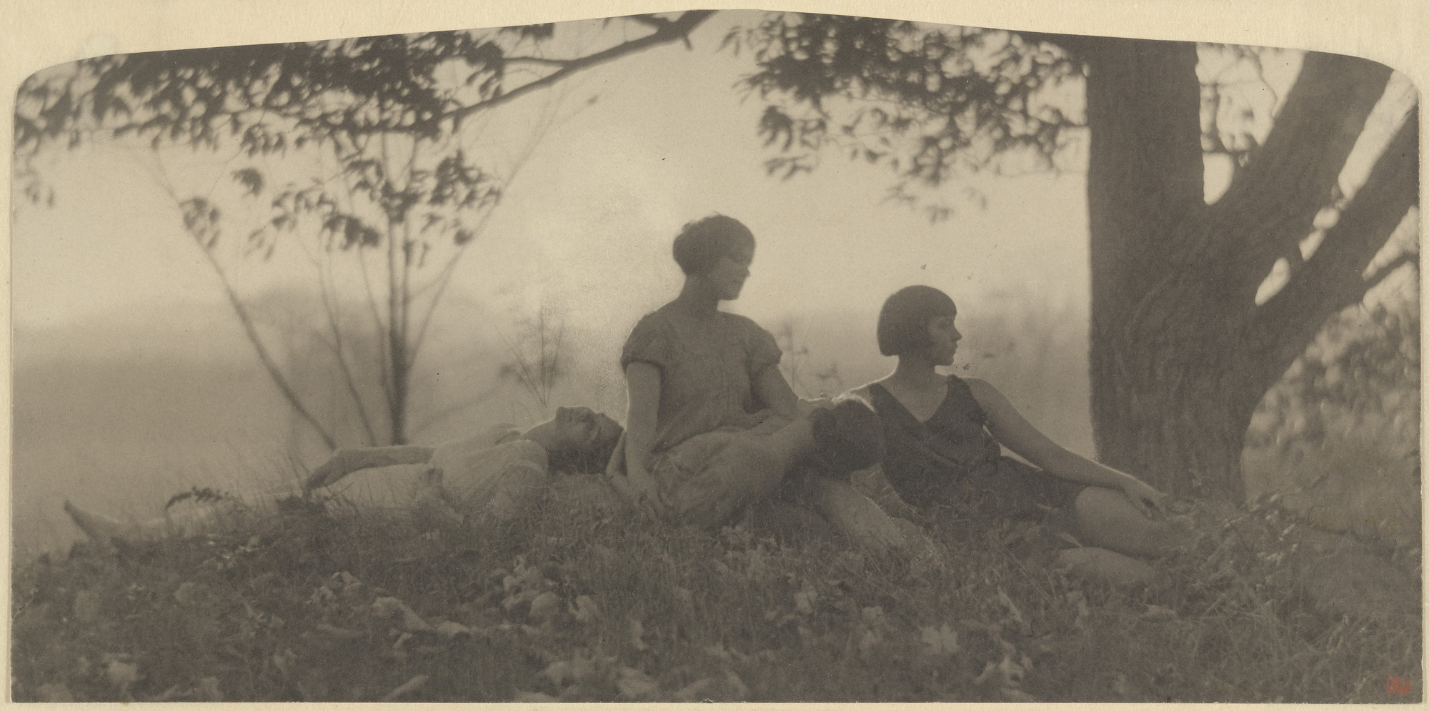 Clarence H. White. Autumn, the Larsen Dancers. 1924