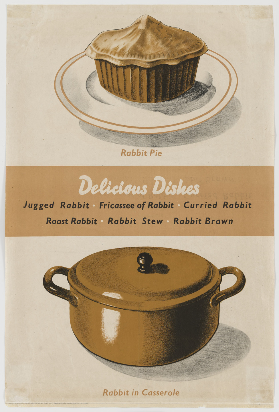 Frederick H. K. Henrion. Delicious Dishes. c.1941