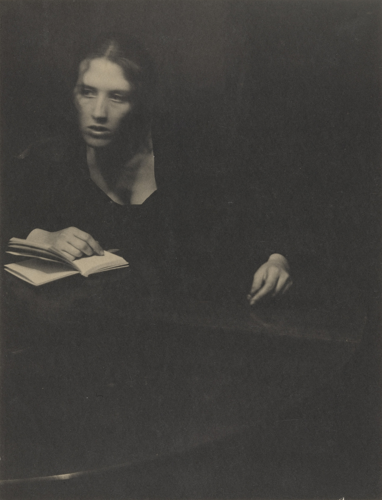 Clarence H. White. Untitled (Letitia Felix at Table). 1899