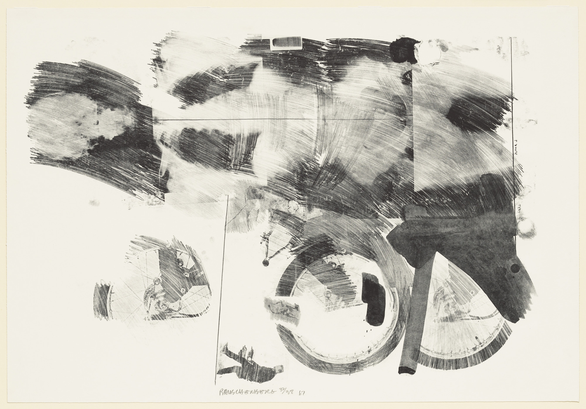 Robert Rauschenberg. Test Stone #7 (Torso) from Booster and 7 Studies. 1967