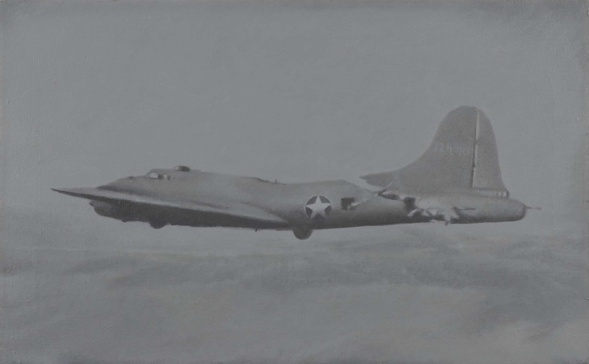 Vija Celmins. Flying Fortress. 1966