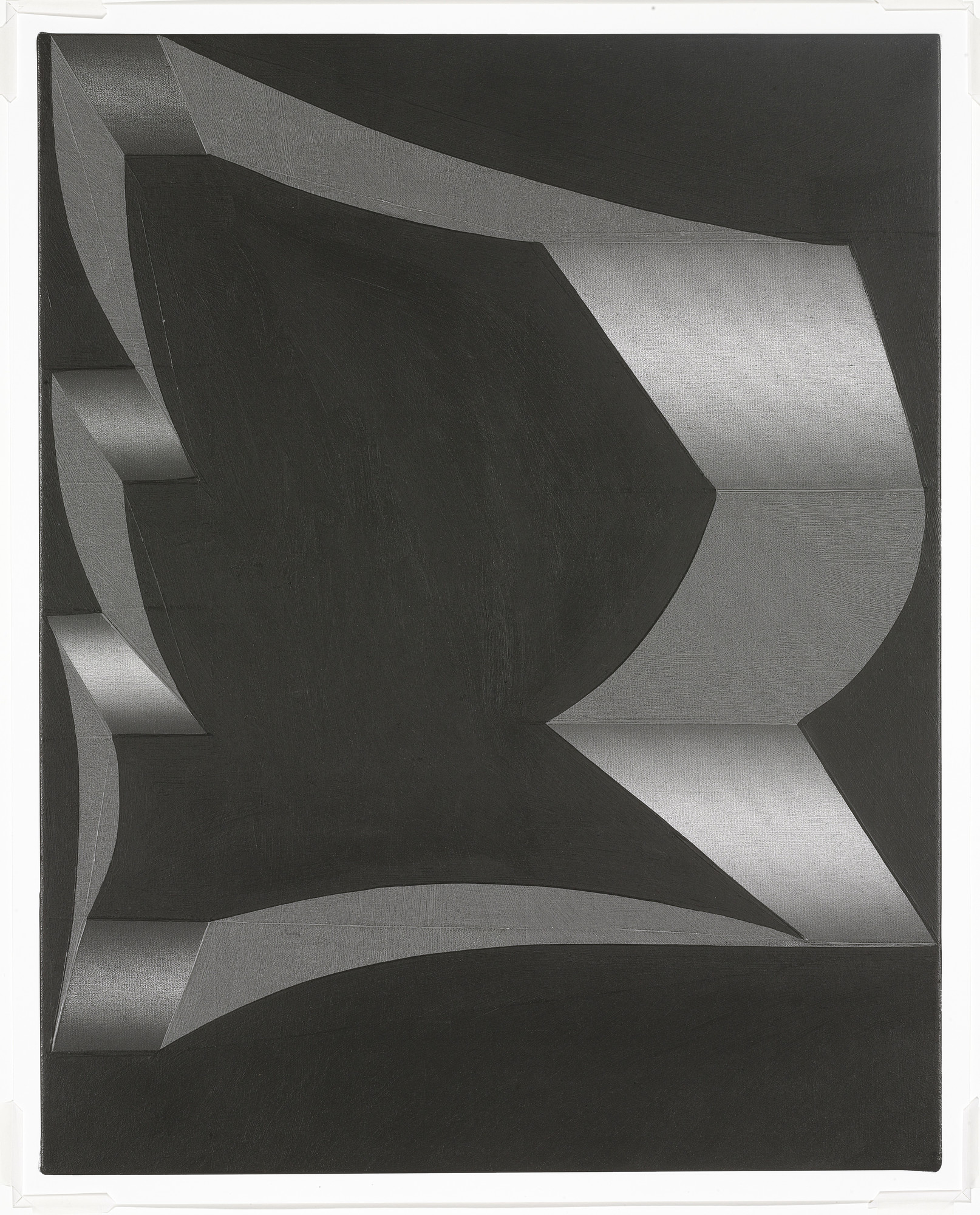 Tomma Abts. Untitled (Uto) (for Parkett no. 84). 2008