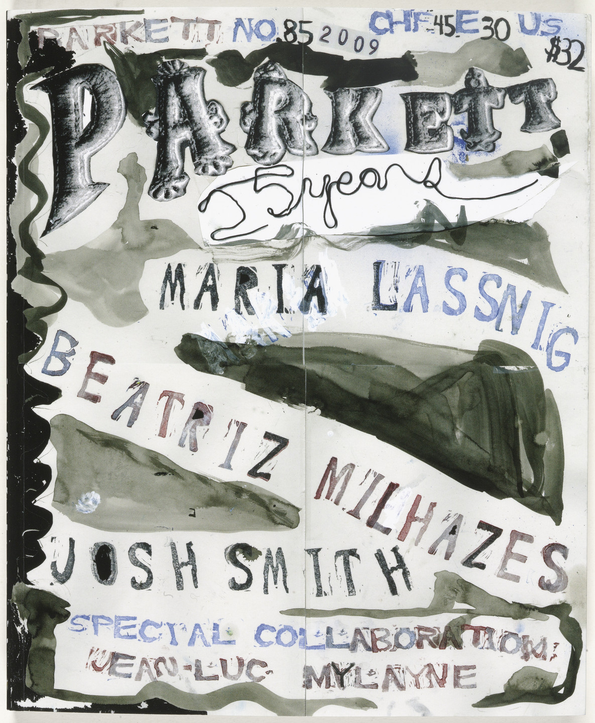 Various Artists, Maria Lassnig, Beatriz Milhazes, Jean-Luc Mylayne, Josh Smith. Parkett no. 85. 2009