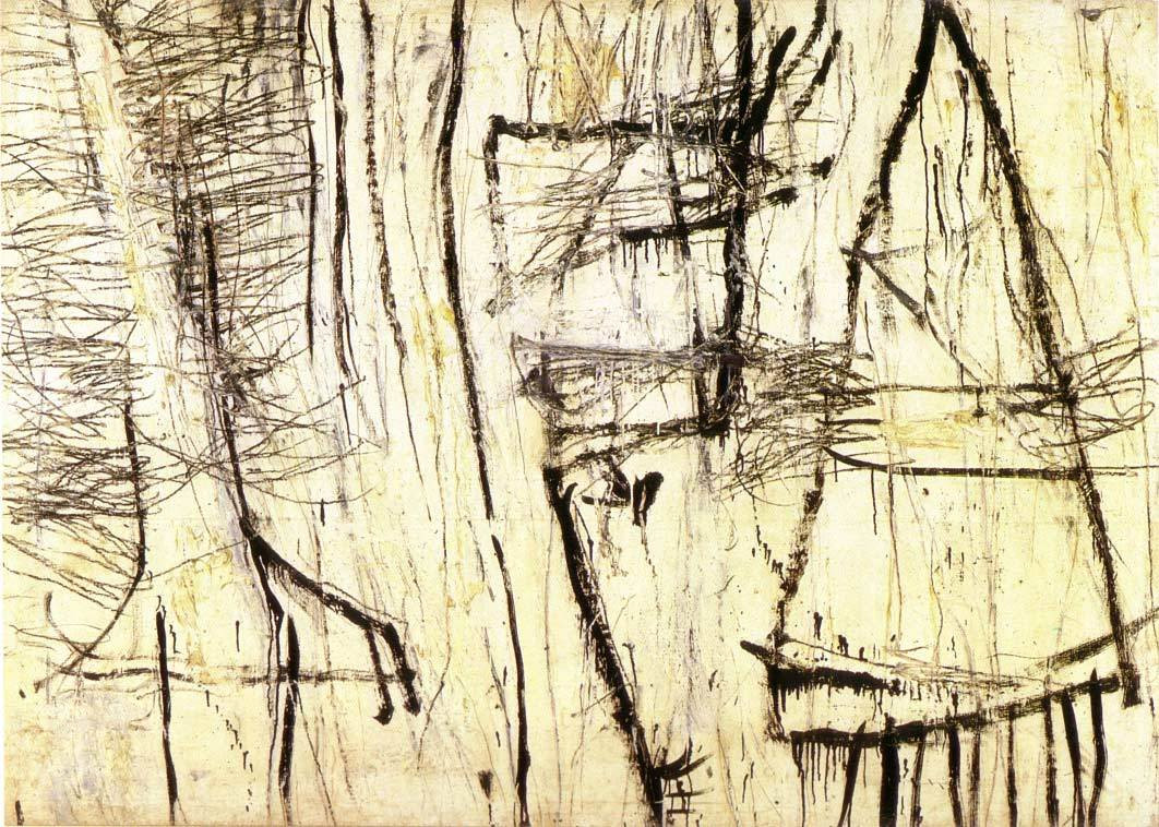 Cy Twombly. Tiznit. New York 1953