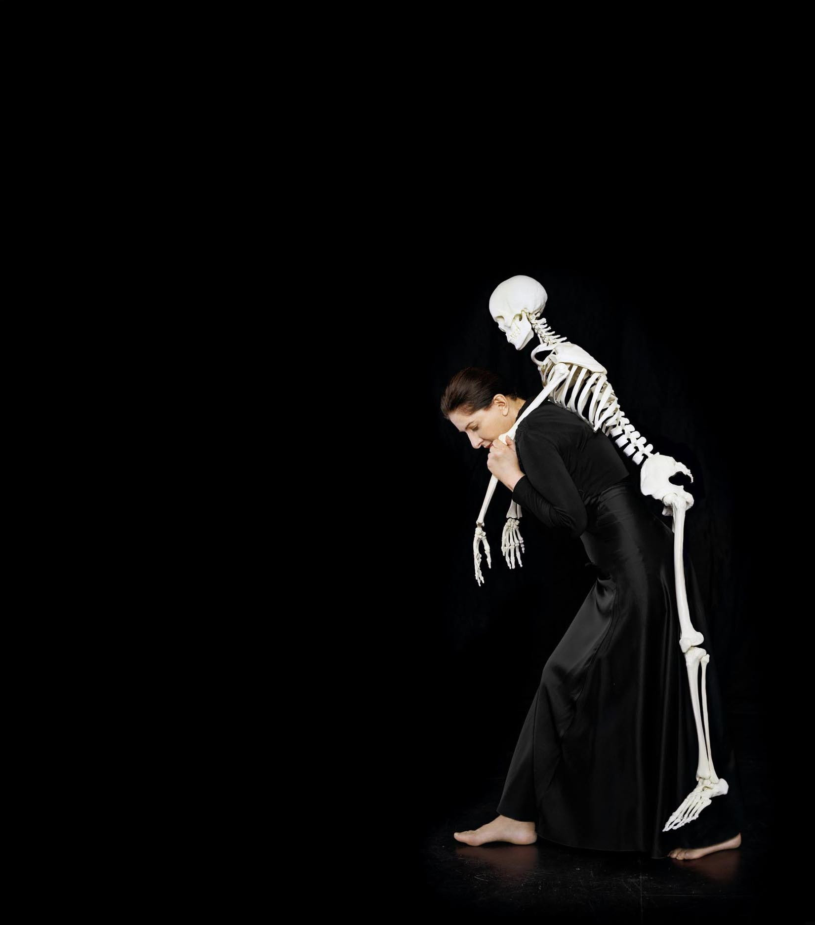 Marina Abramović. Carrying the Skeleton. 2008