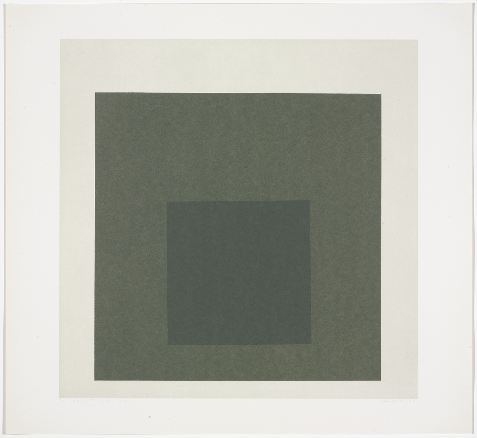 Josef Albers. Day + Night VI from Day and Night: Homage to the Square. 1963