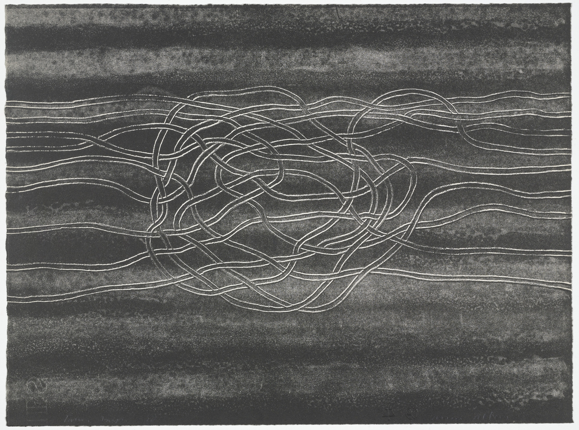 Anni Albers. IV from Line Involvements. 1964