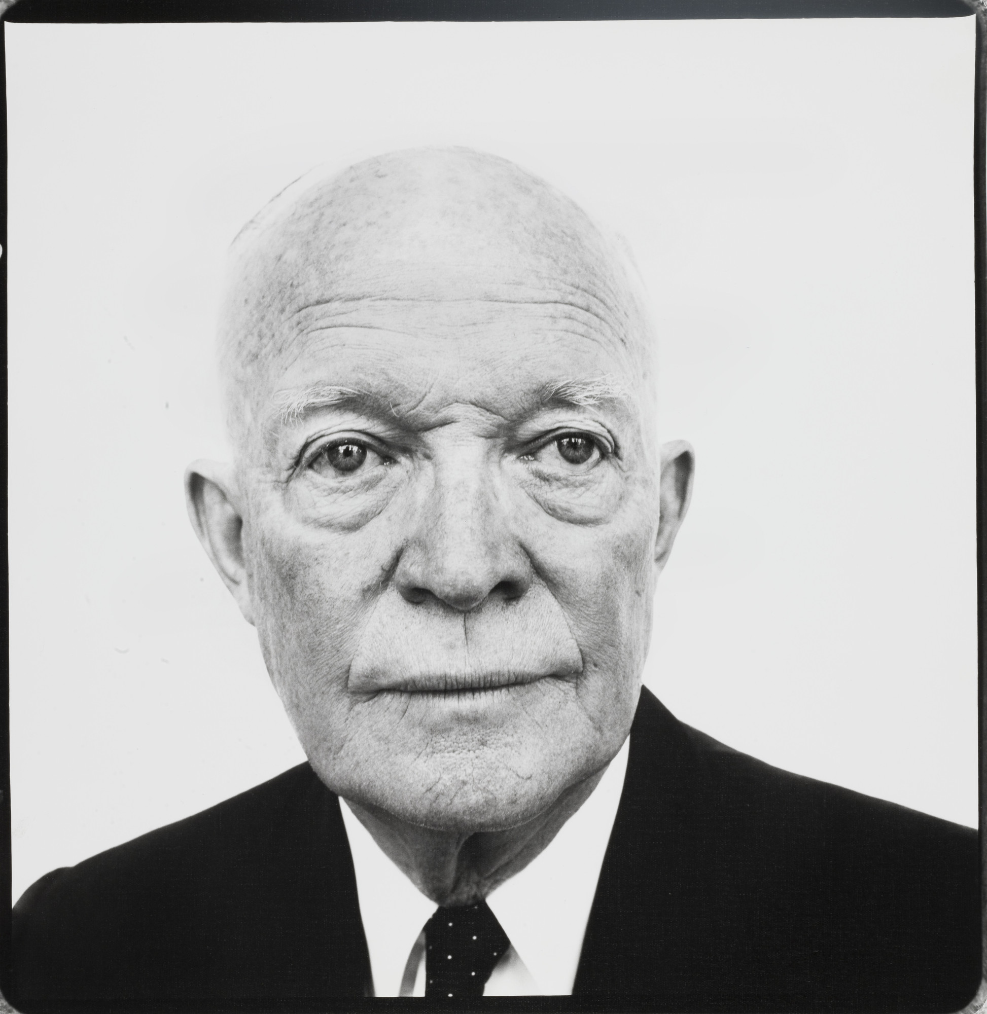 Richard Avedon. Dwight David Eisenhower, President of the United States, Palm Springs, California. January 31, 1964
