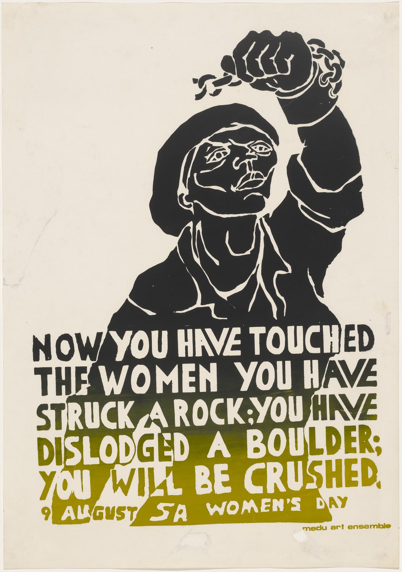 Medu Art Ensemble, Gaborone, Botswana. You Have Struck a Rock. 1981 | MoMA