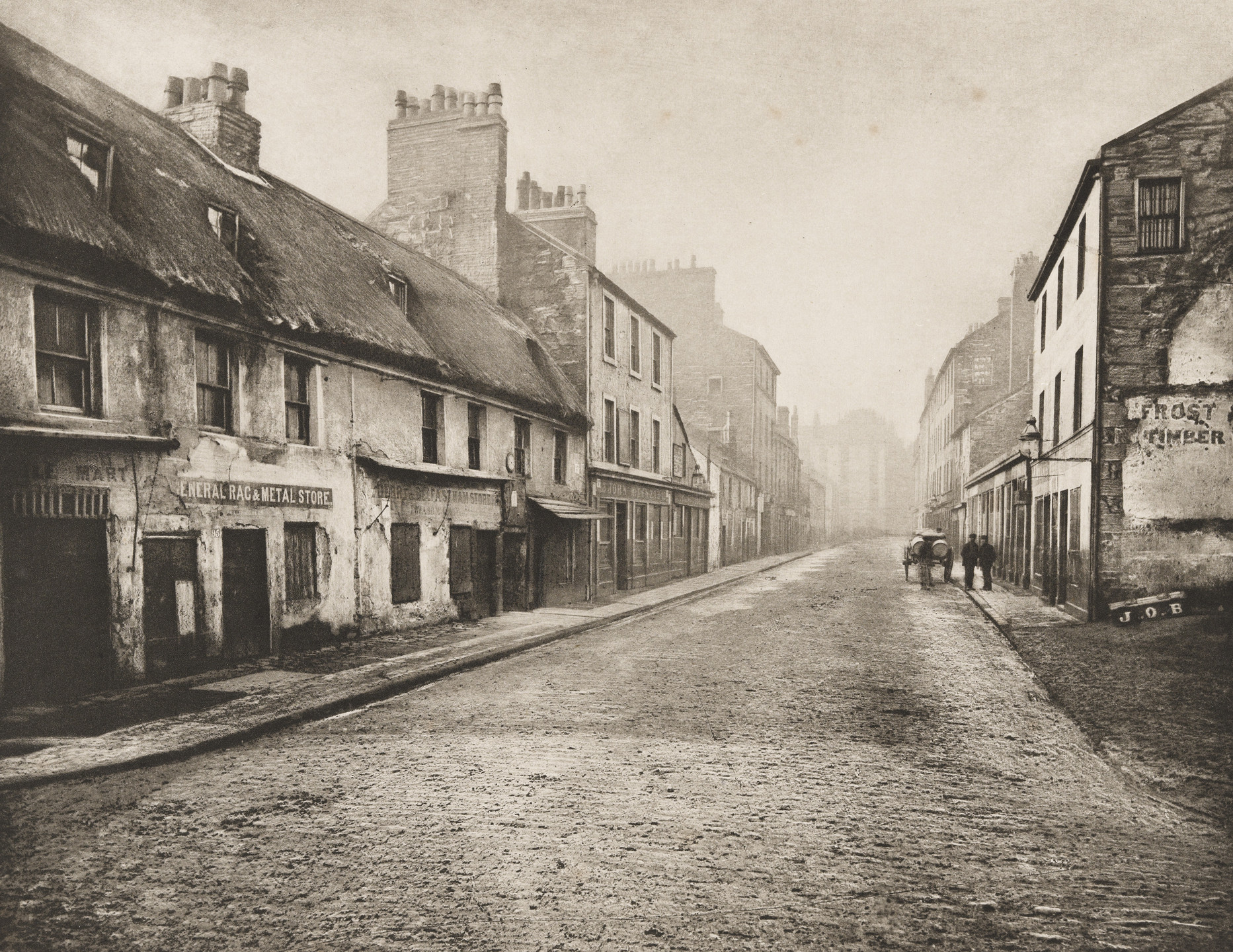 Thomas Annan. Main Street, Gorbals, Looking South. 1868