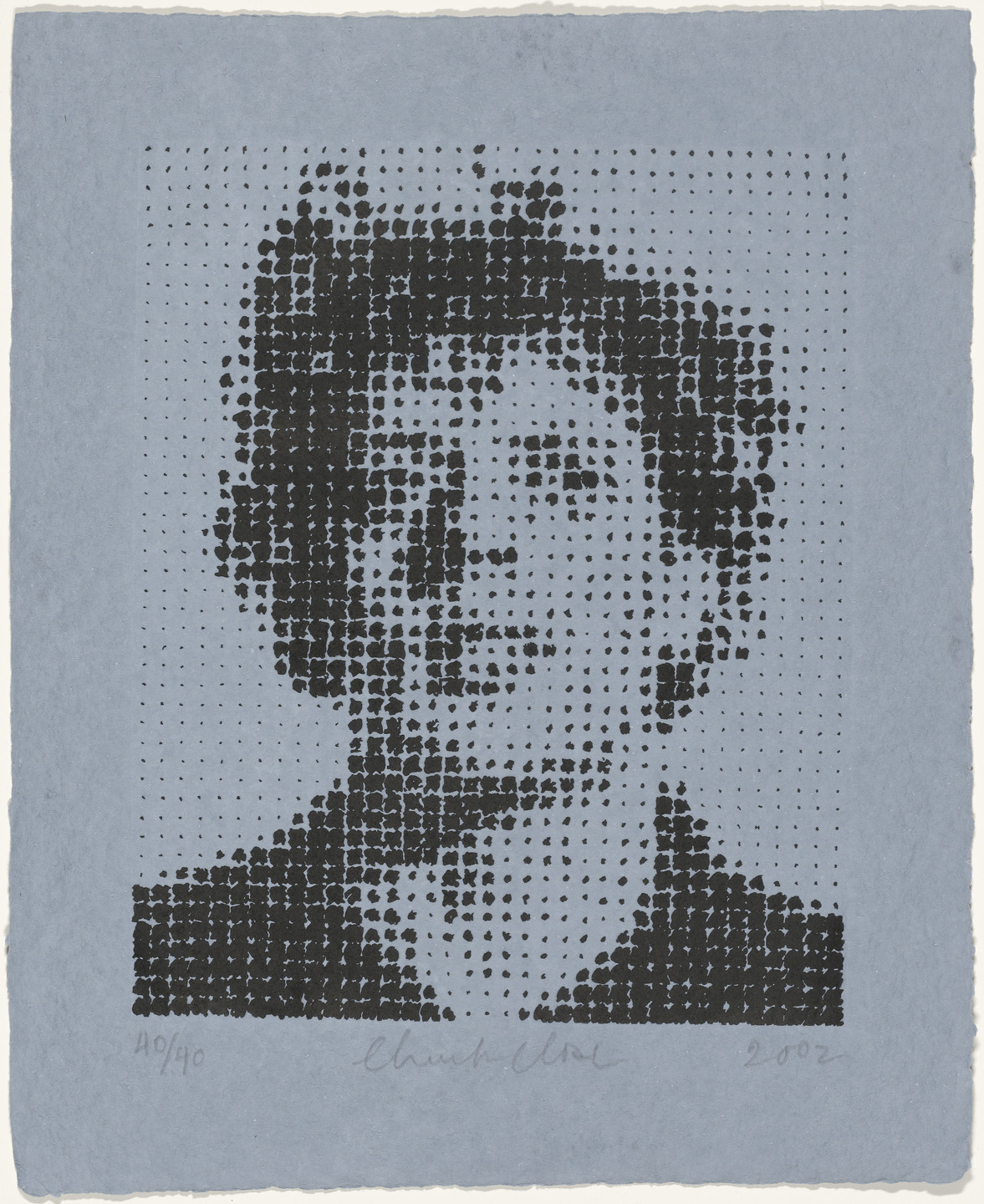 Chuck Close. Phil Gray. 2002