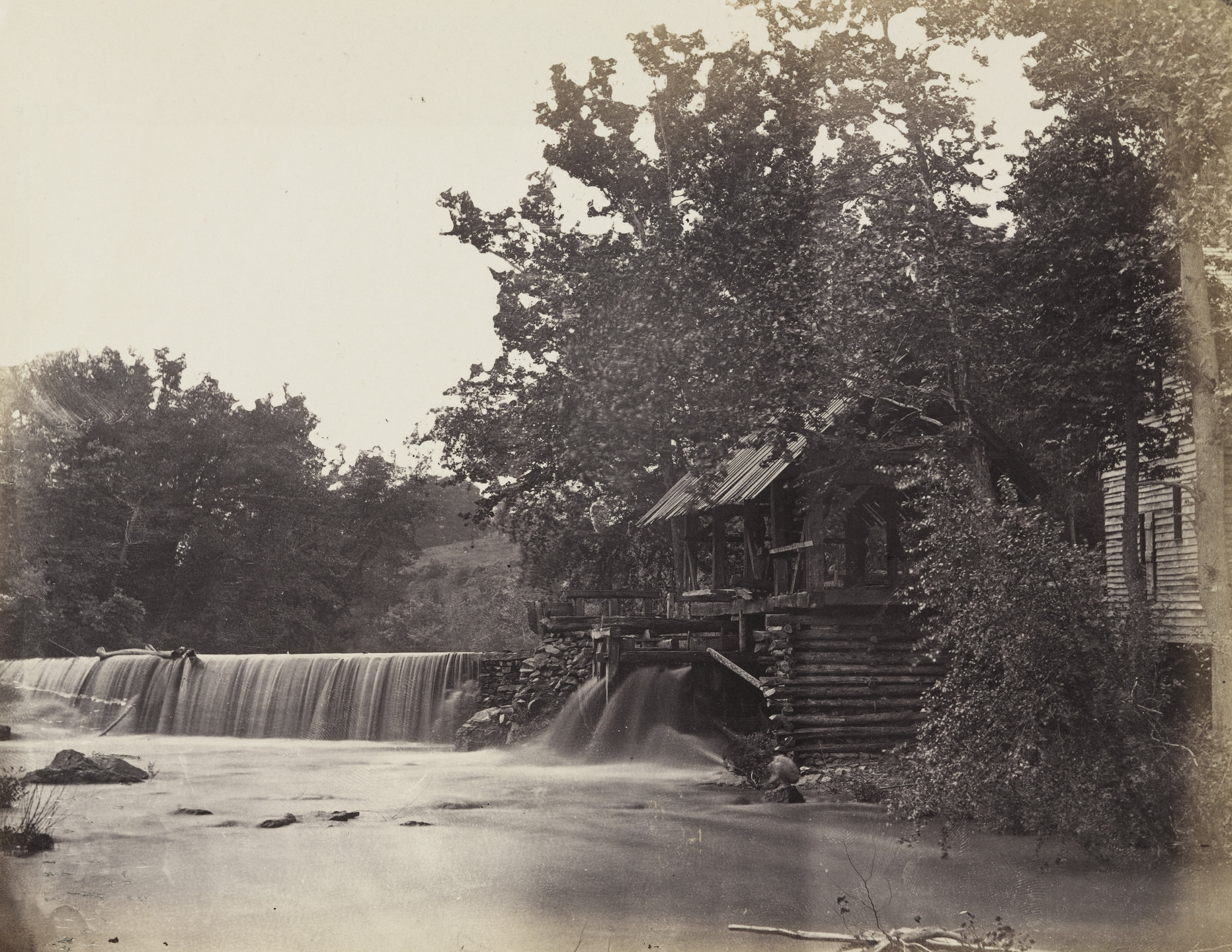 Alexander Gardner. Quarles' Mill, North Anna, Virginia. May, 1864