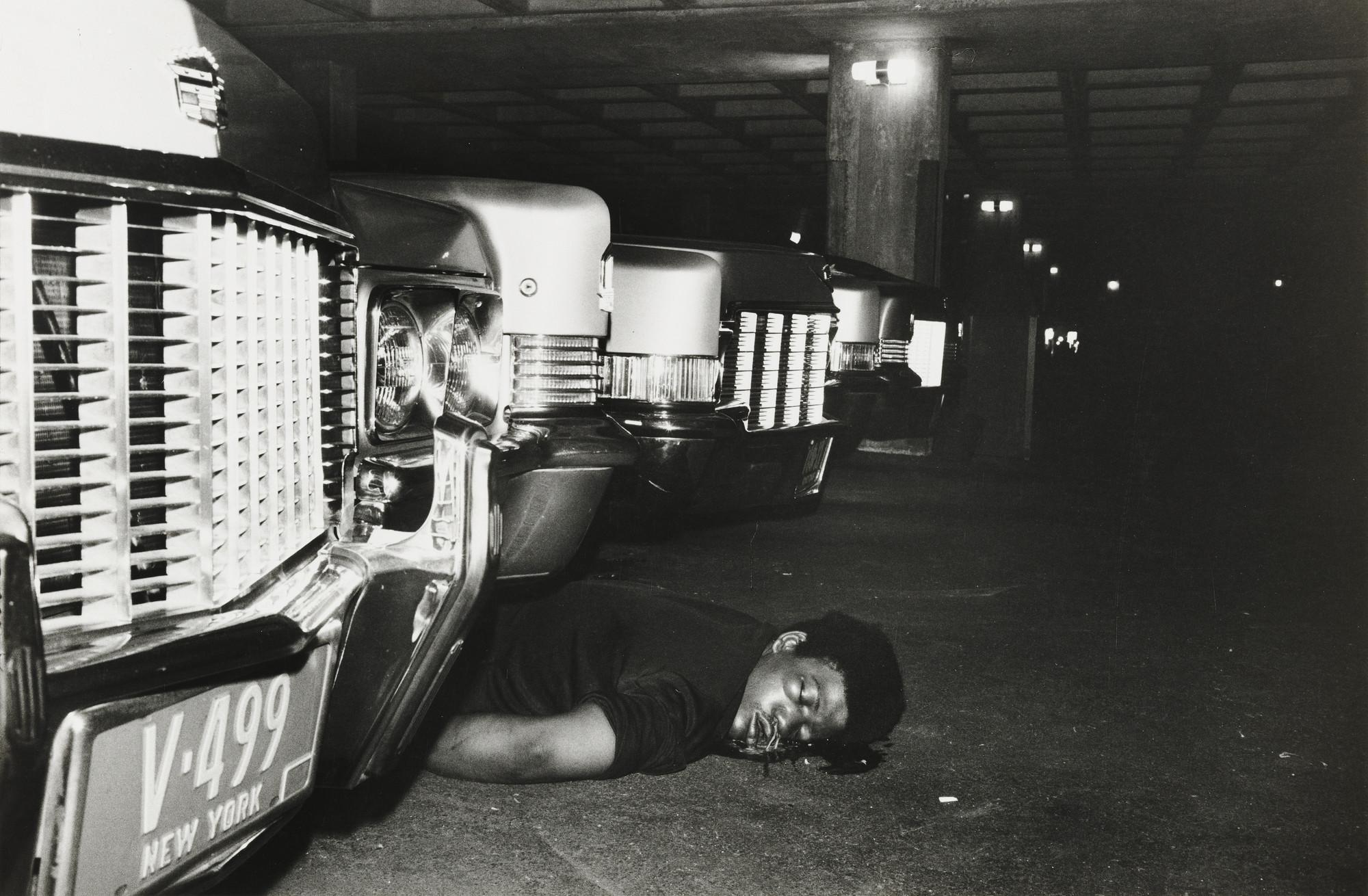 leonard freed new york murder in the garage of a lavish apartment