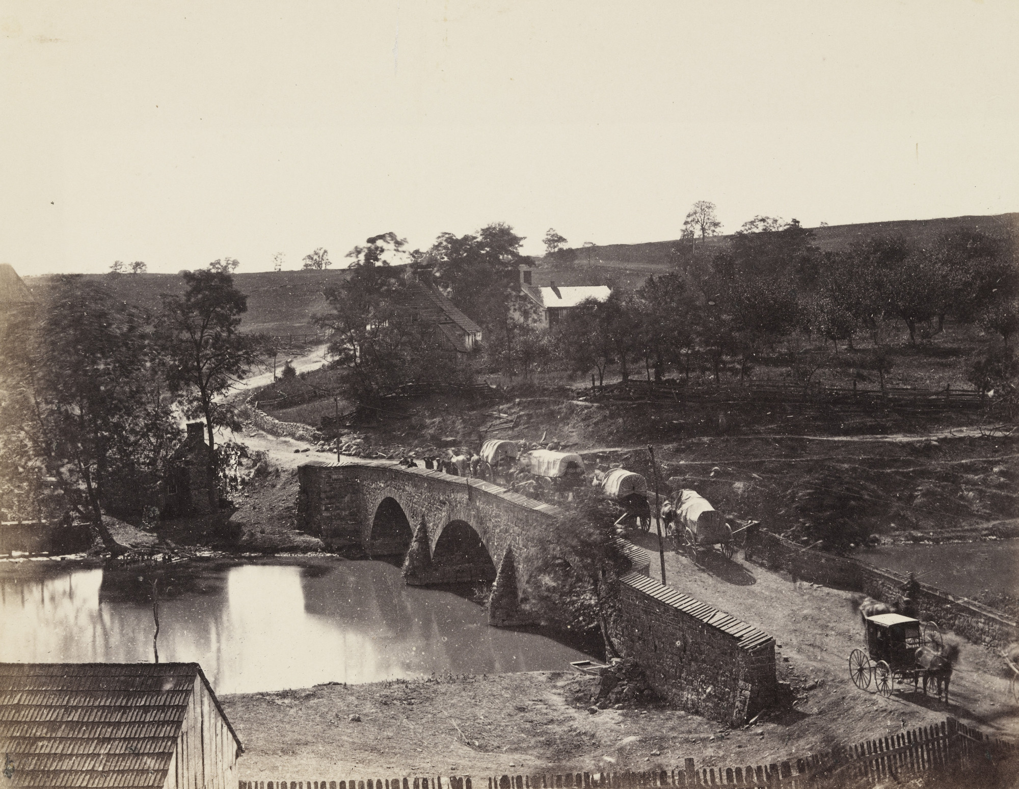 Alexander Gardner. Antietam Bridge, Maryland. September, 1862