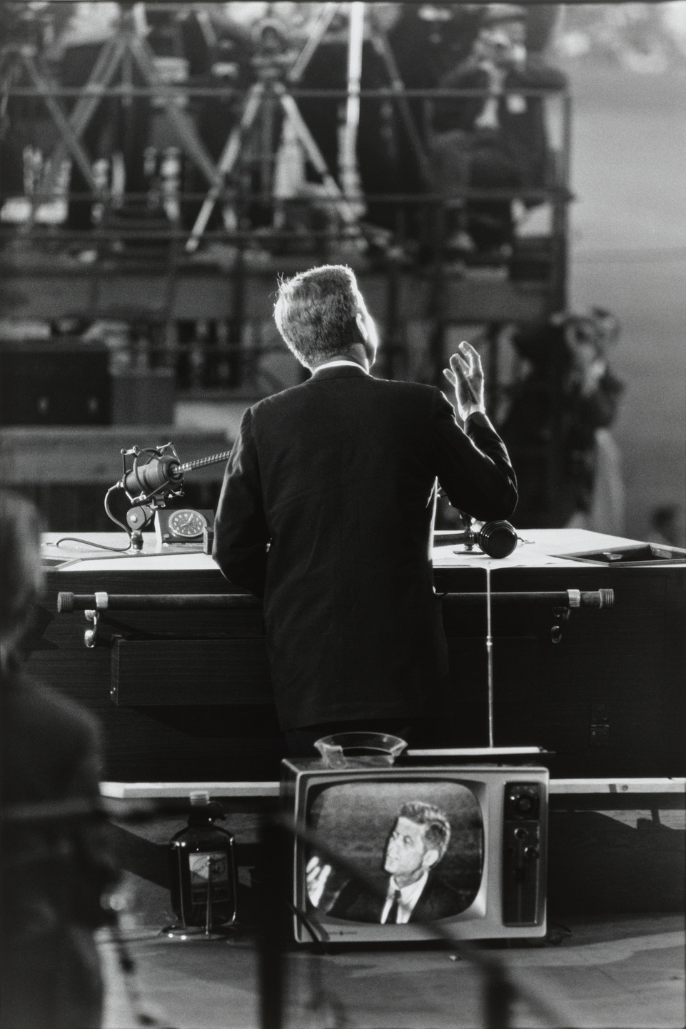 Garry Winogrand. John F. Kennedy, Democratic National Convention, Los Angeles from the portfolio Big Shots. 1960