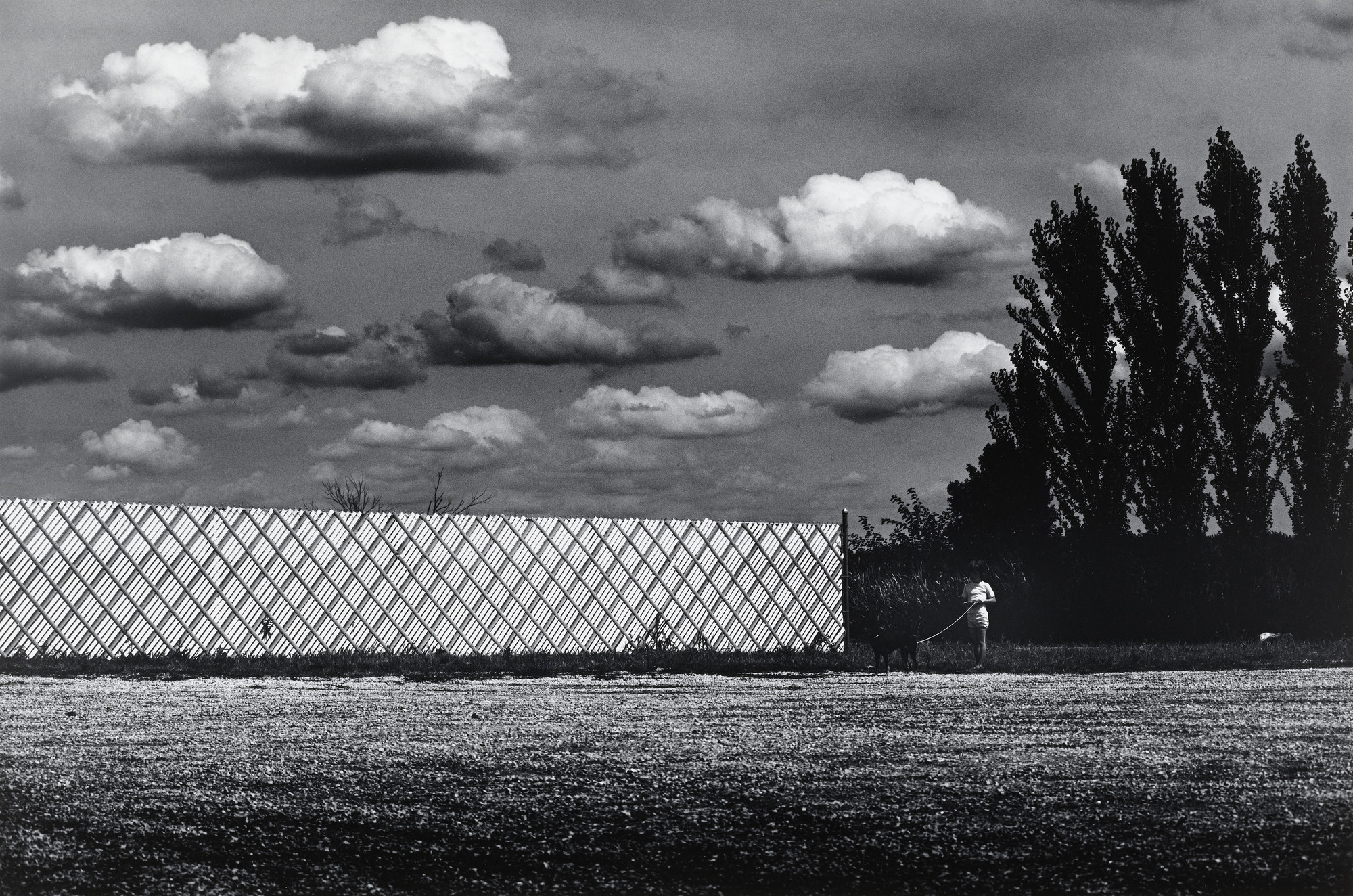 Ikko (Ikko Narahara). Long Fence, Illinois. 1972