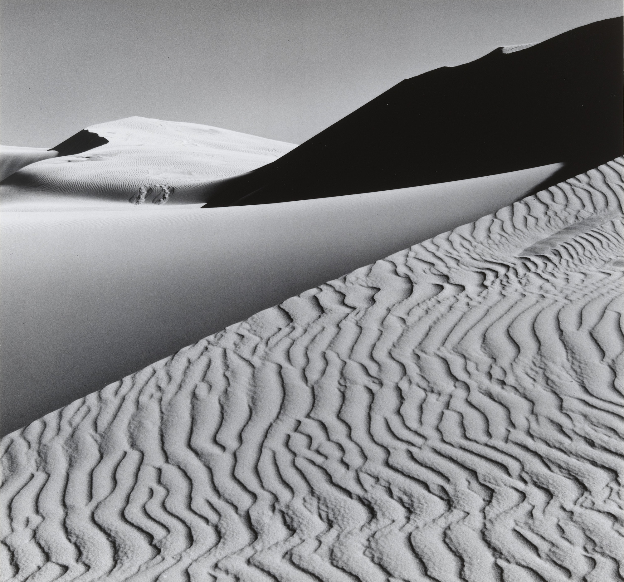 Ansel Adams. Dunes, Oceano, California. 1963
