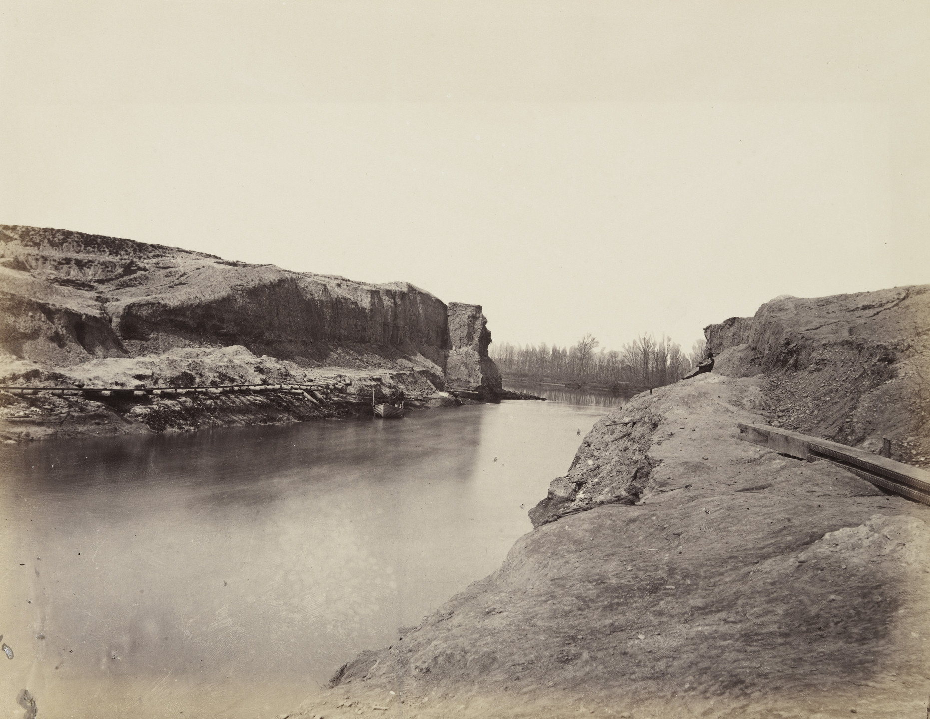 Alexander Gardner. Dutch Gap Canal, James River, Virginia. March, 1864