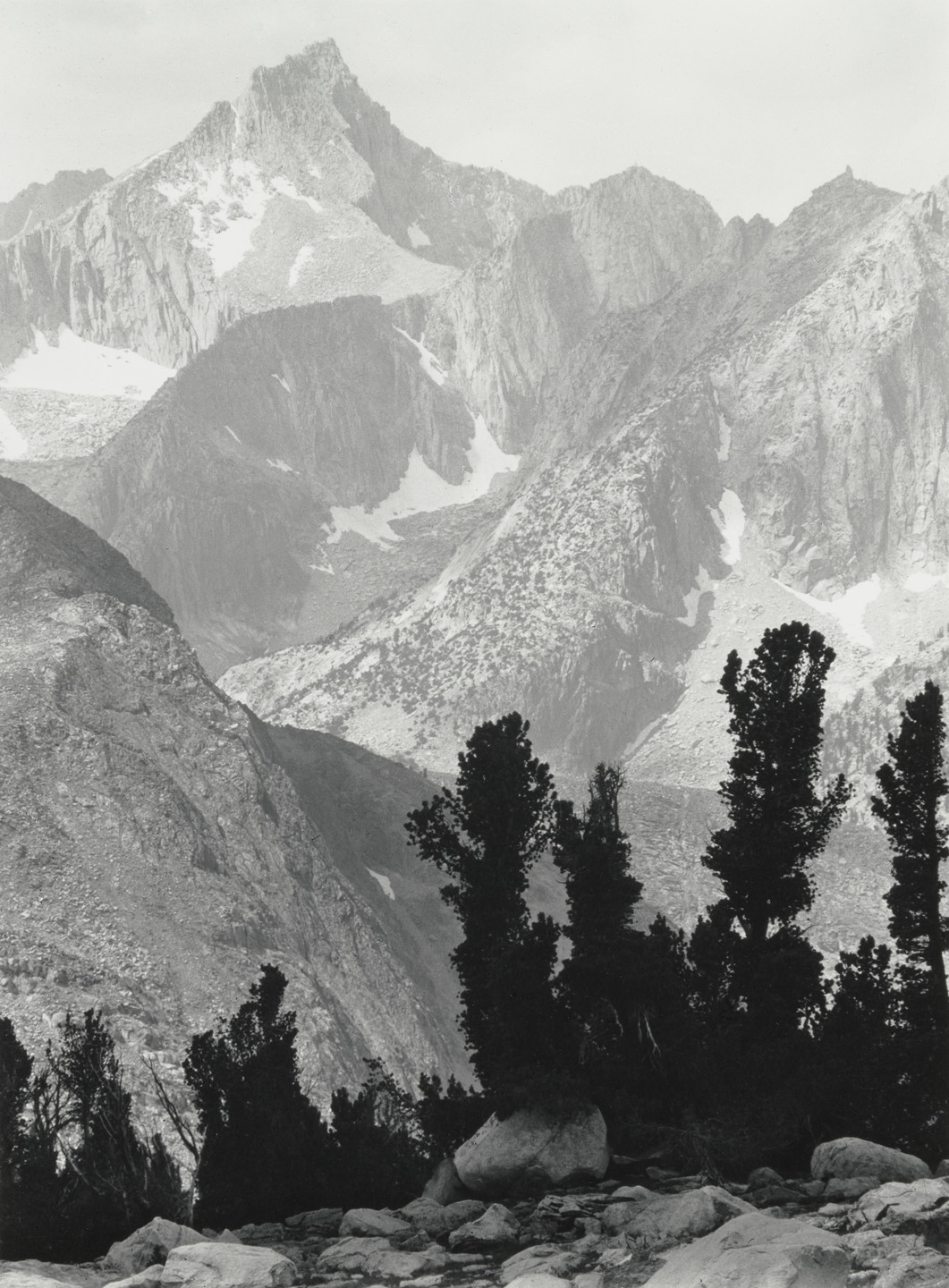 Ansel Adams. Mount Clarence King, Kings Canyon National Park, California. 1924