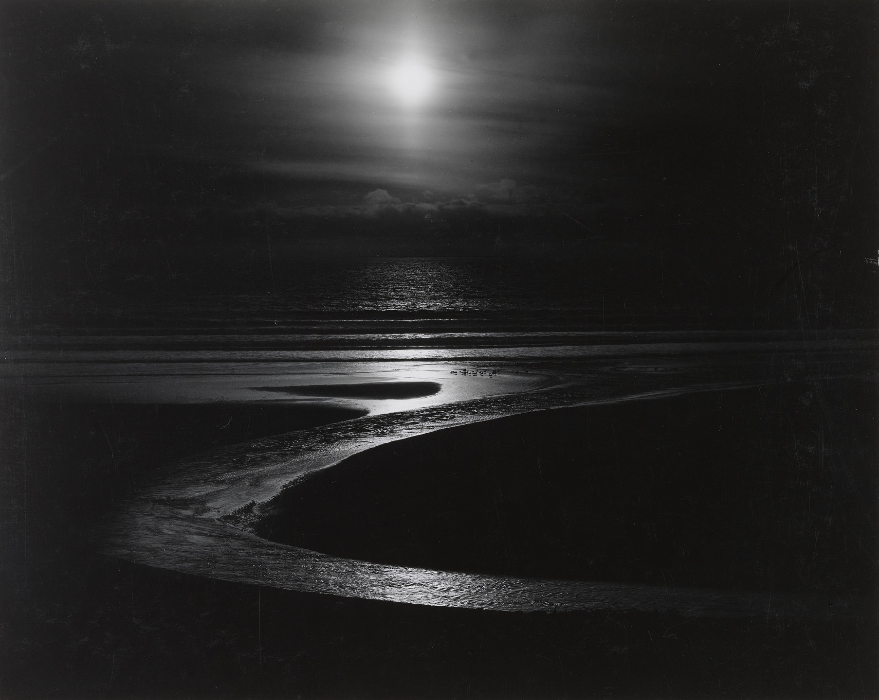 Wynn Bullock. Let There Be Light. 1954