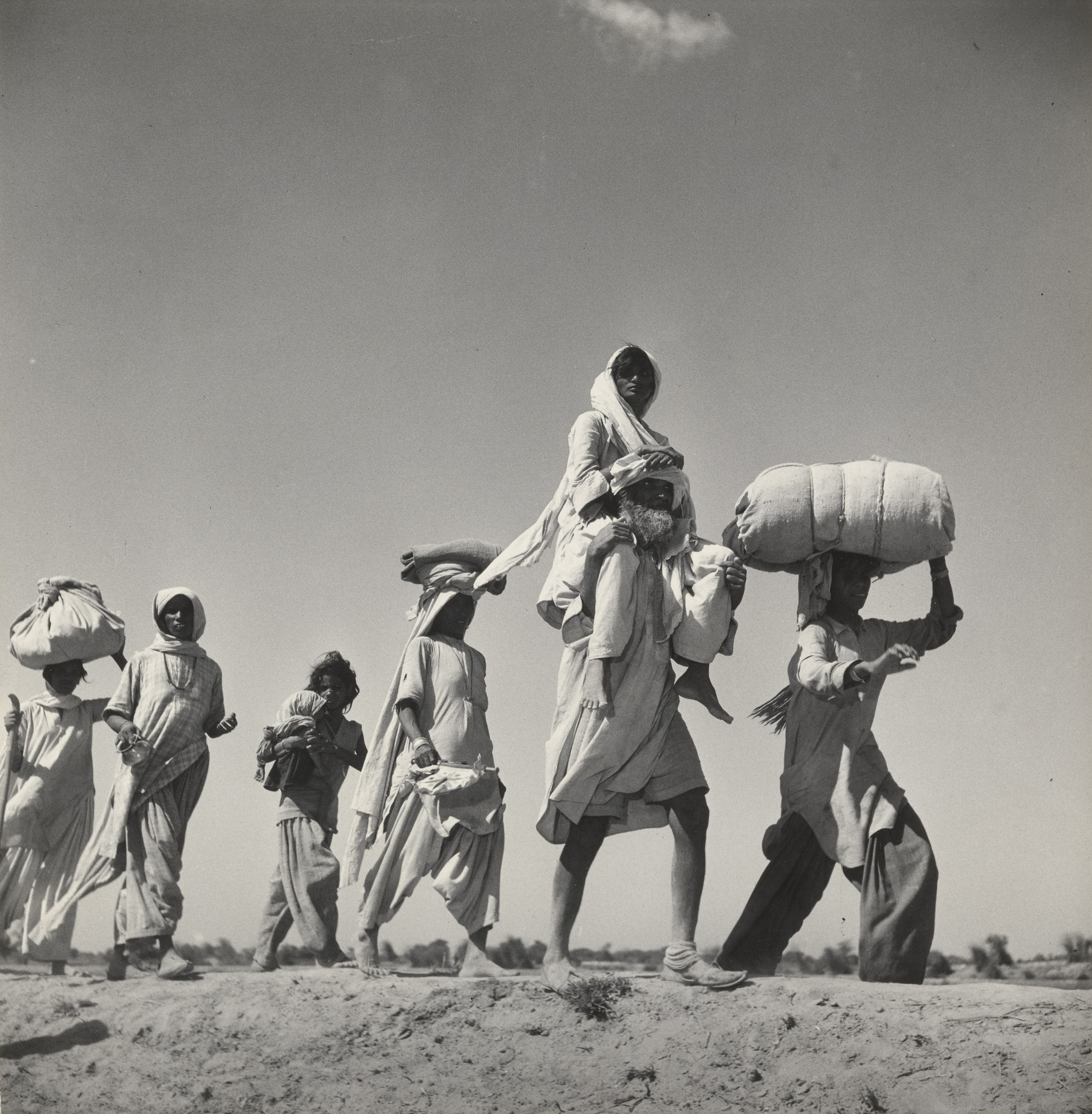 Margaret Bourke-White. Exodus, Pakistan. 1947