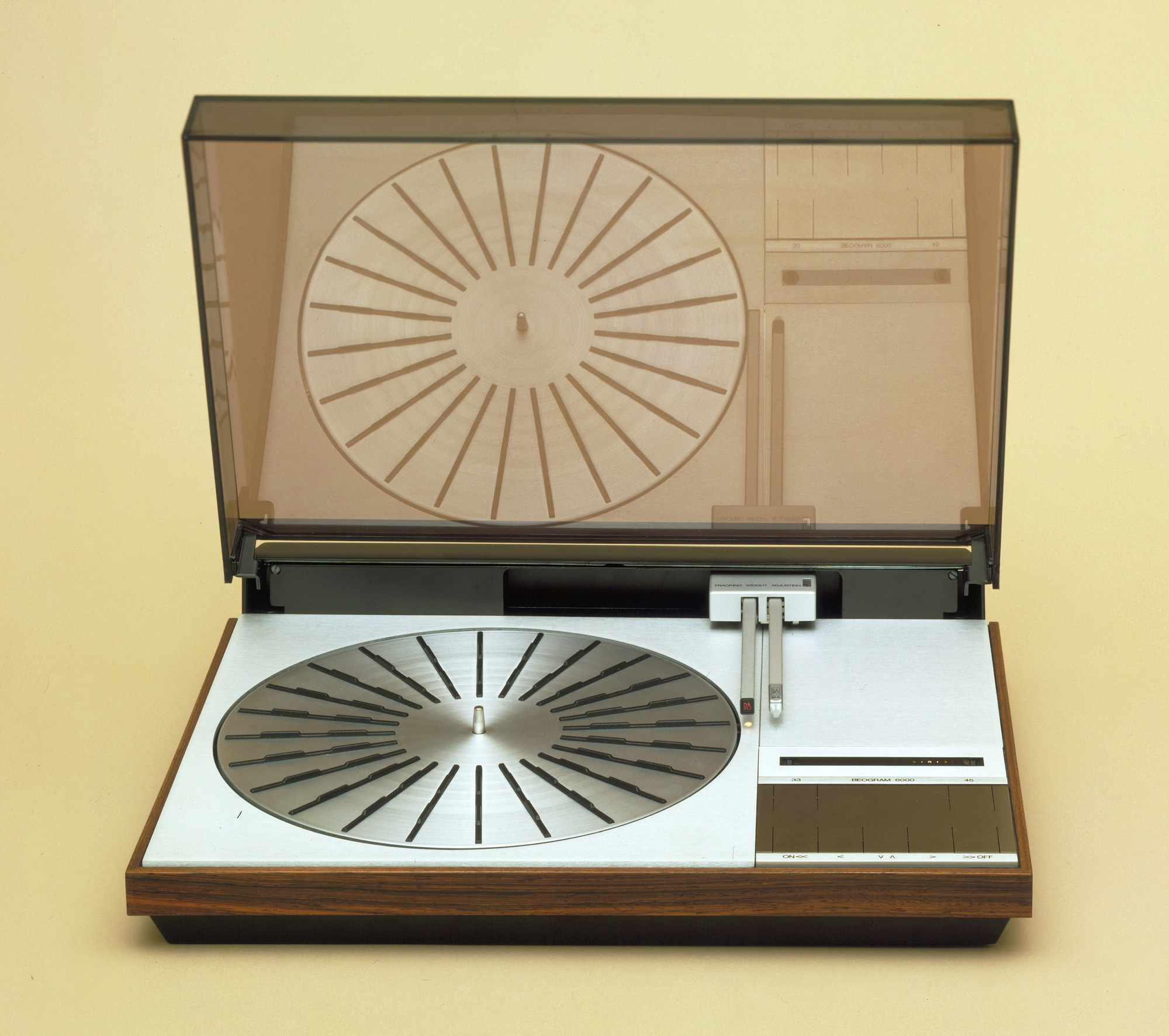 Jacob Jensen. Beogram 6000 Turntable. 1974