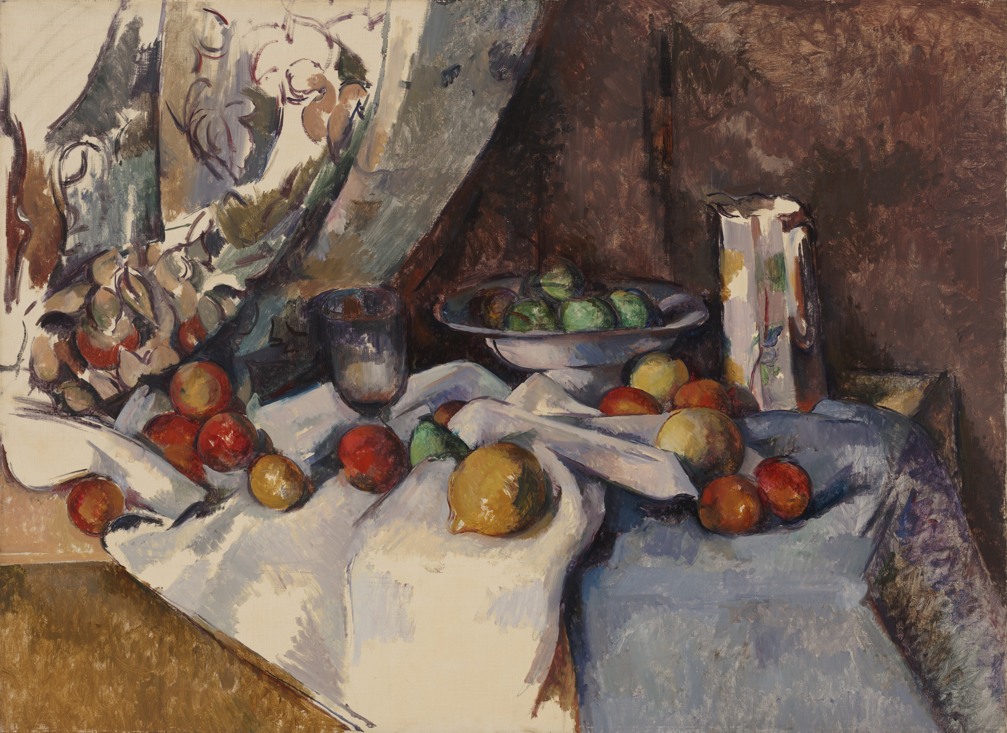 Paul Cézanne. Still Life with Apples. 1895-98
