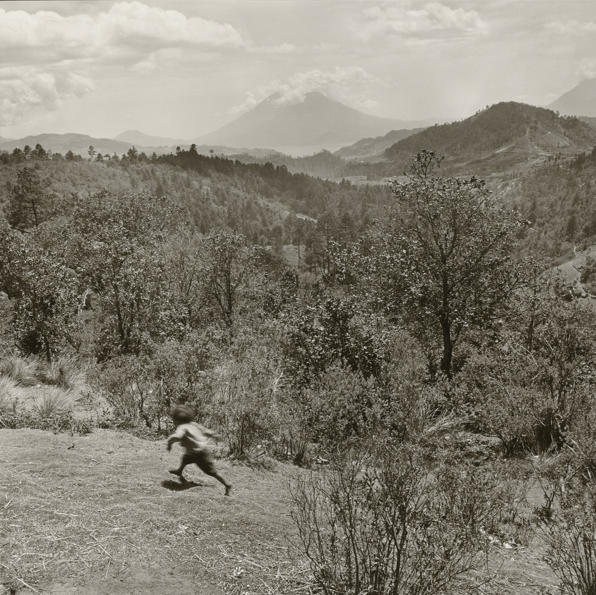 Rosalind Fox Solomon. Running Boy, Guatemala. 1978