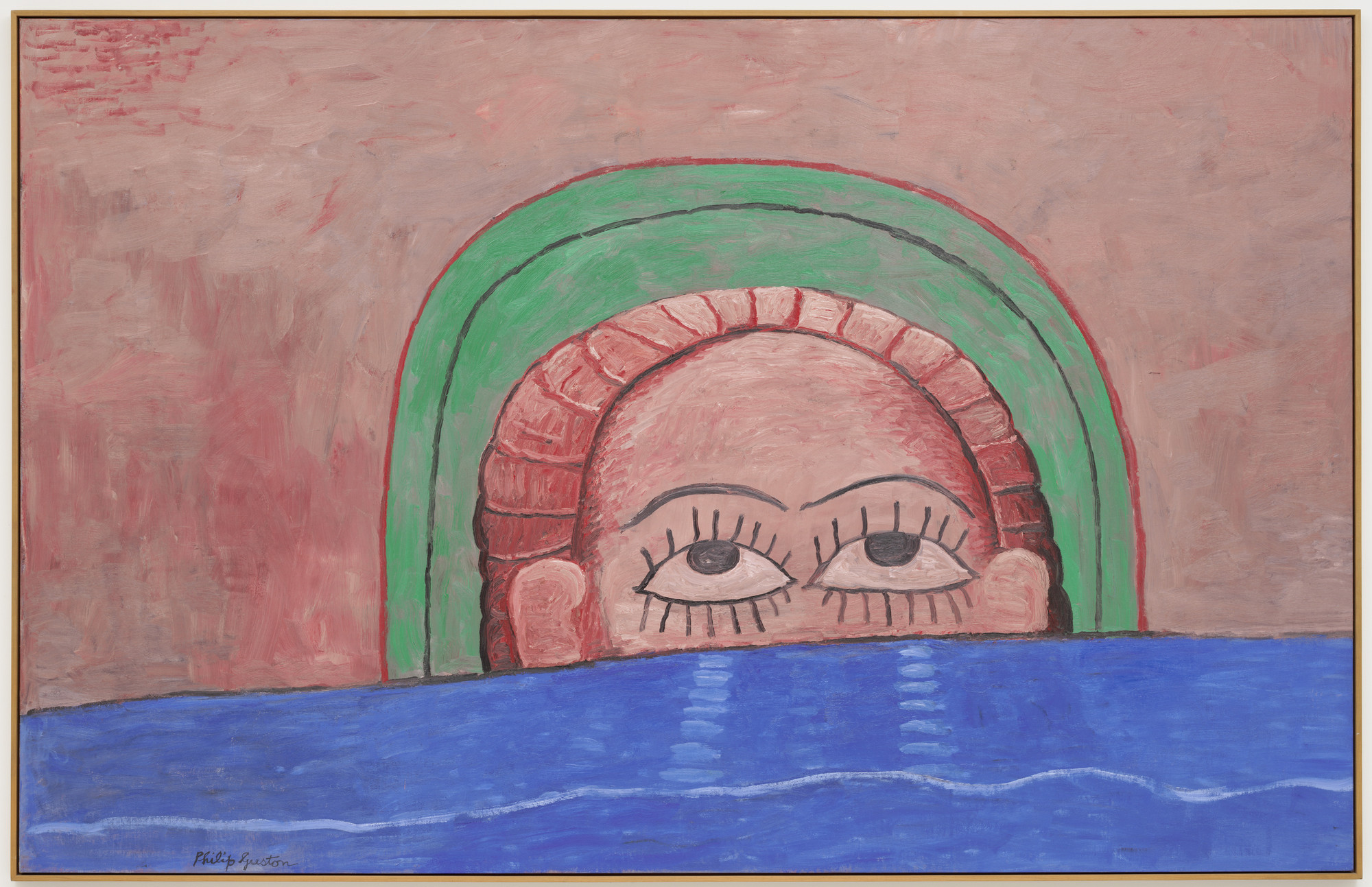 Philip Guston. Source. 1976