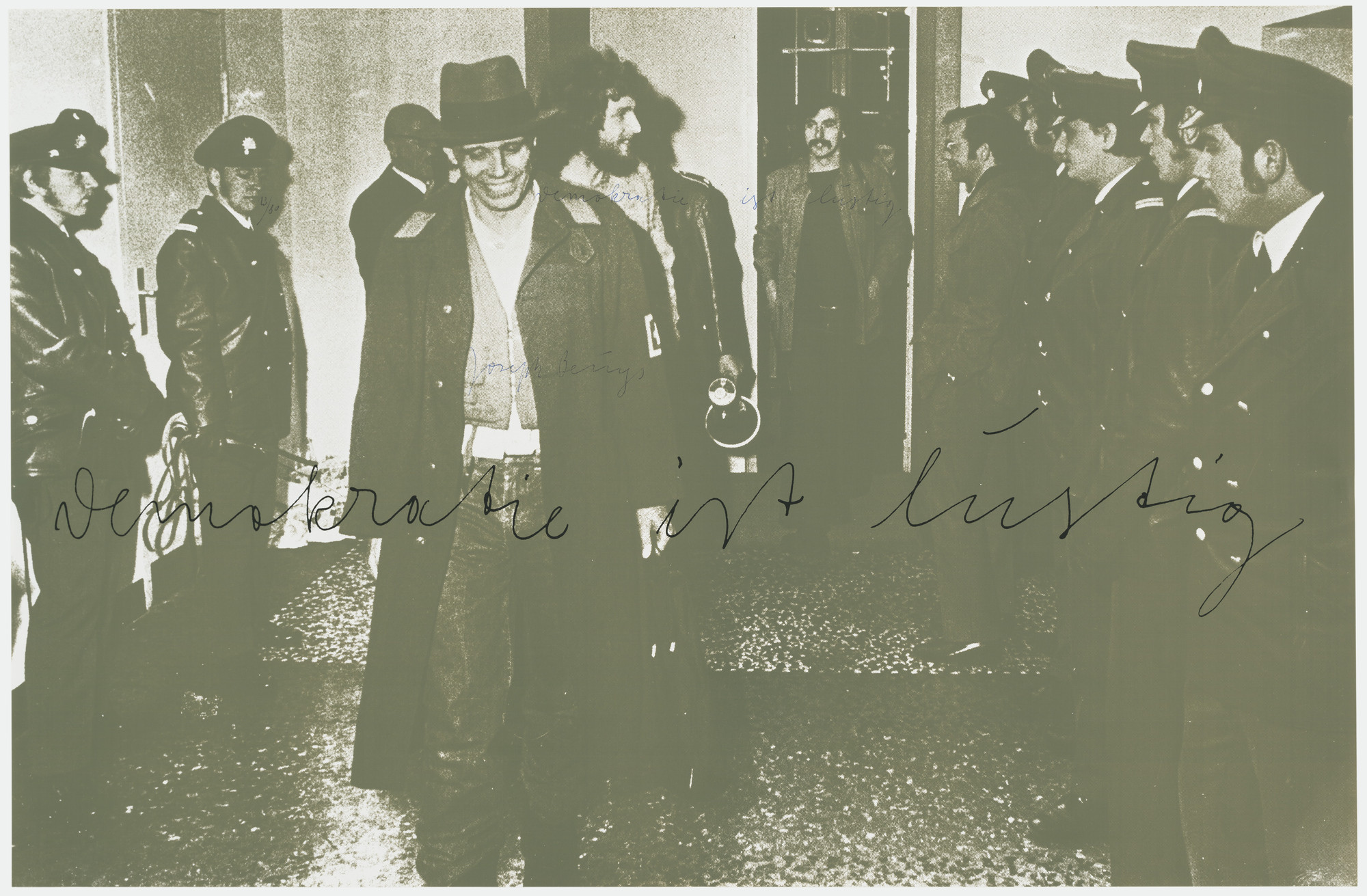 Joseph Beuys. Democracy Is Merry (Demokratie ist lustig). 1973