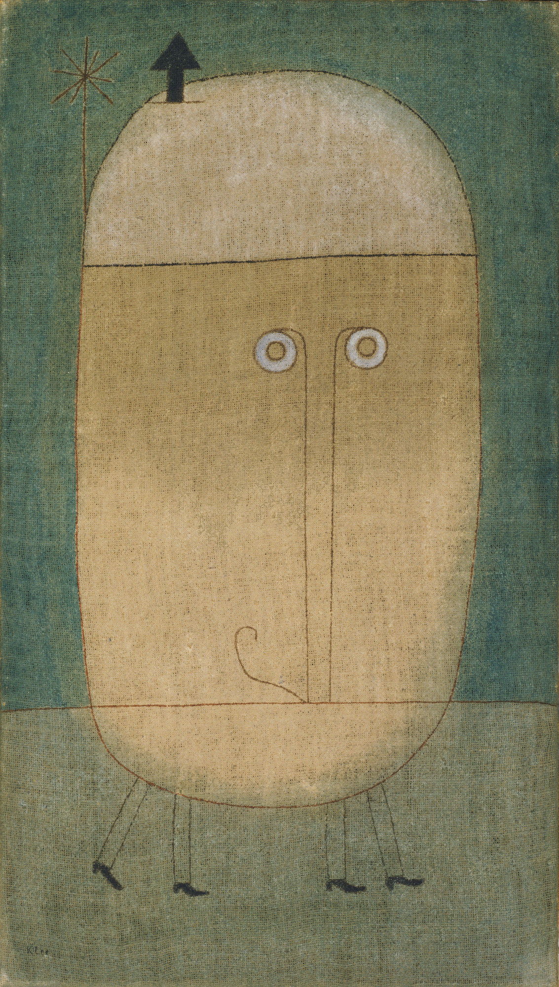 Paul Klee. Mask of Fear. 1932
