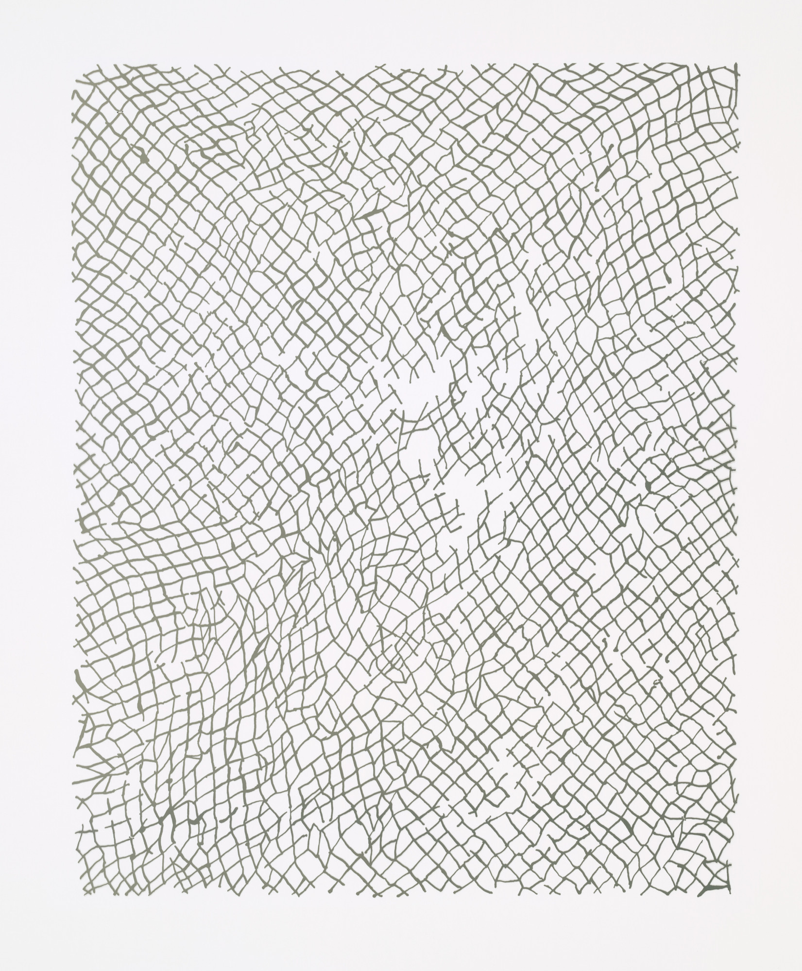 Rachel Whiteread. Untitled (Nets). 2002