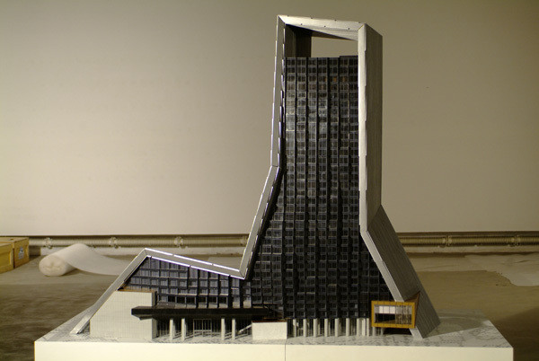 Ole Scheeren, Rem Koolhaas. TVCC 1:100 Model. 2006
