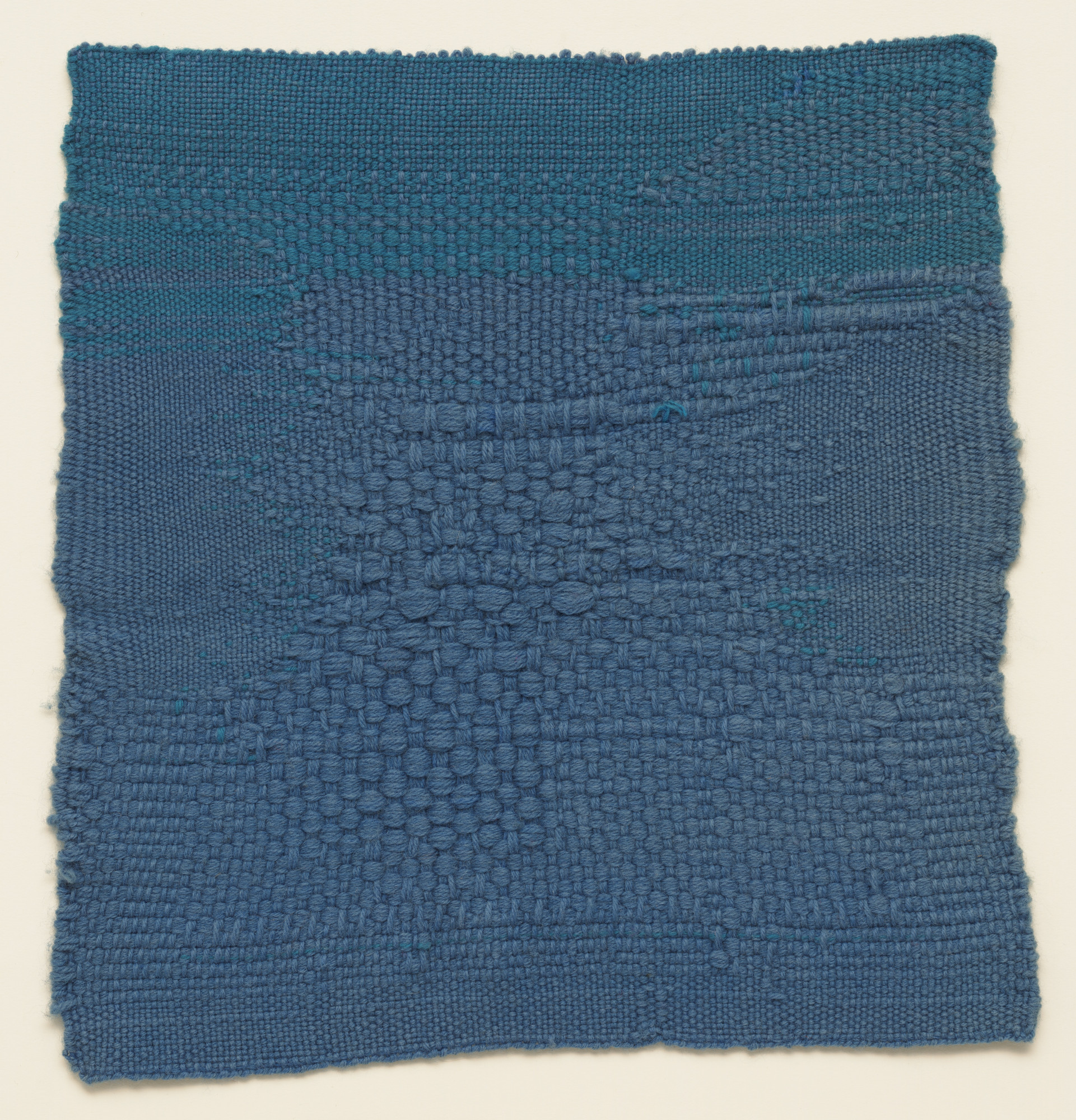 Sheila Hicks. Blue Letter. 1959
