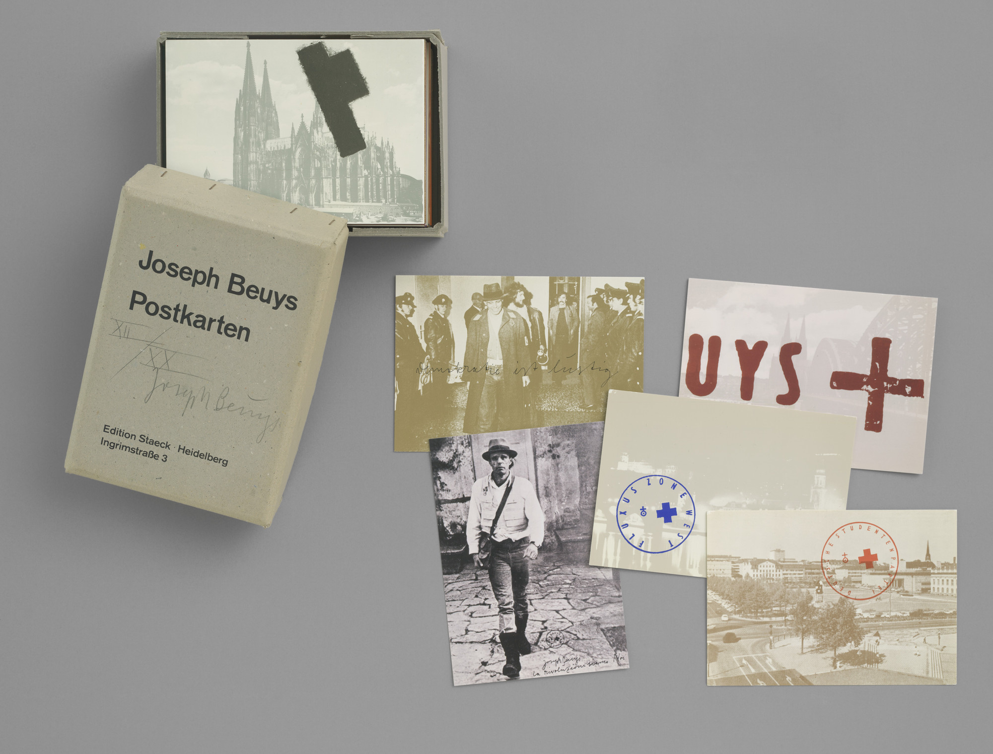 Joseph Beuys. Postcards 1968–1974 (Postkarten 1968–1974). 1968–74, published 1974