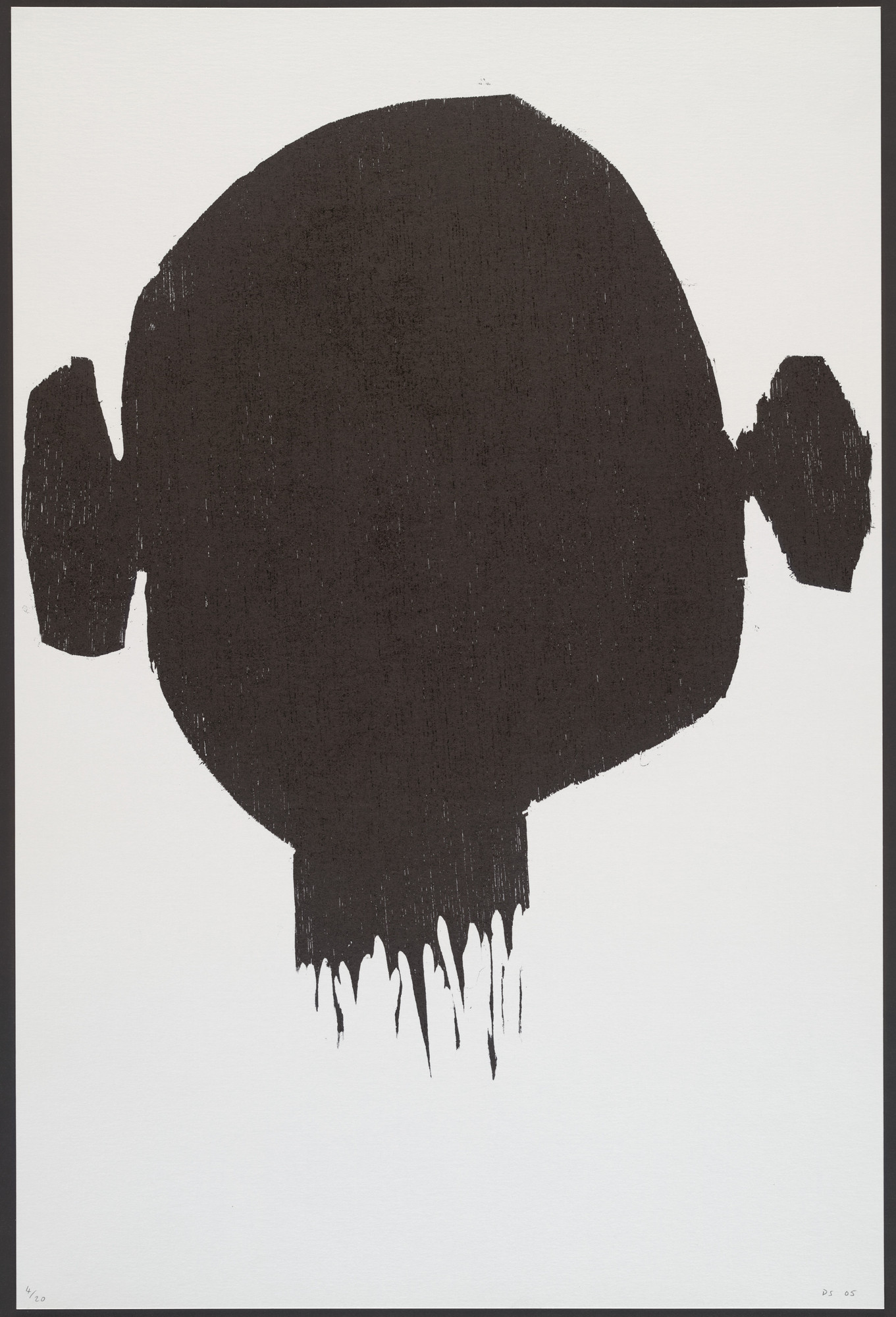 David Shrigley. Untitled (Severed head) from an untitled portfolio. 2005 | MoMA