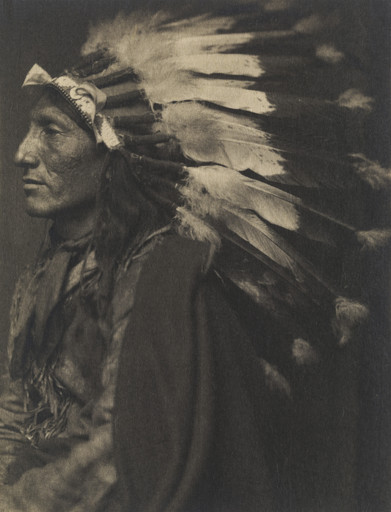 Gertrude Käsebier. Whirling Horse, Sioux. c. 1899