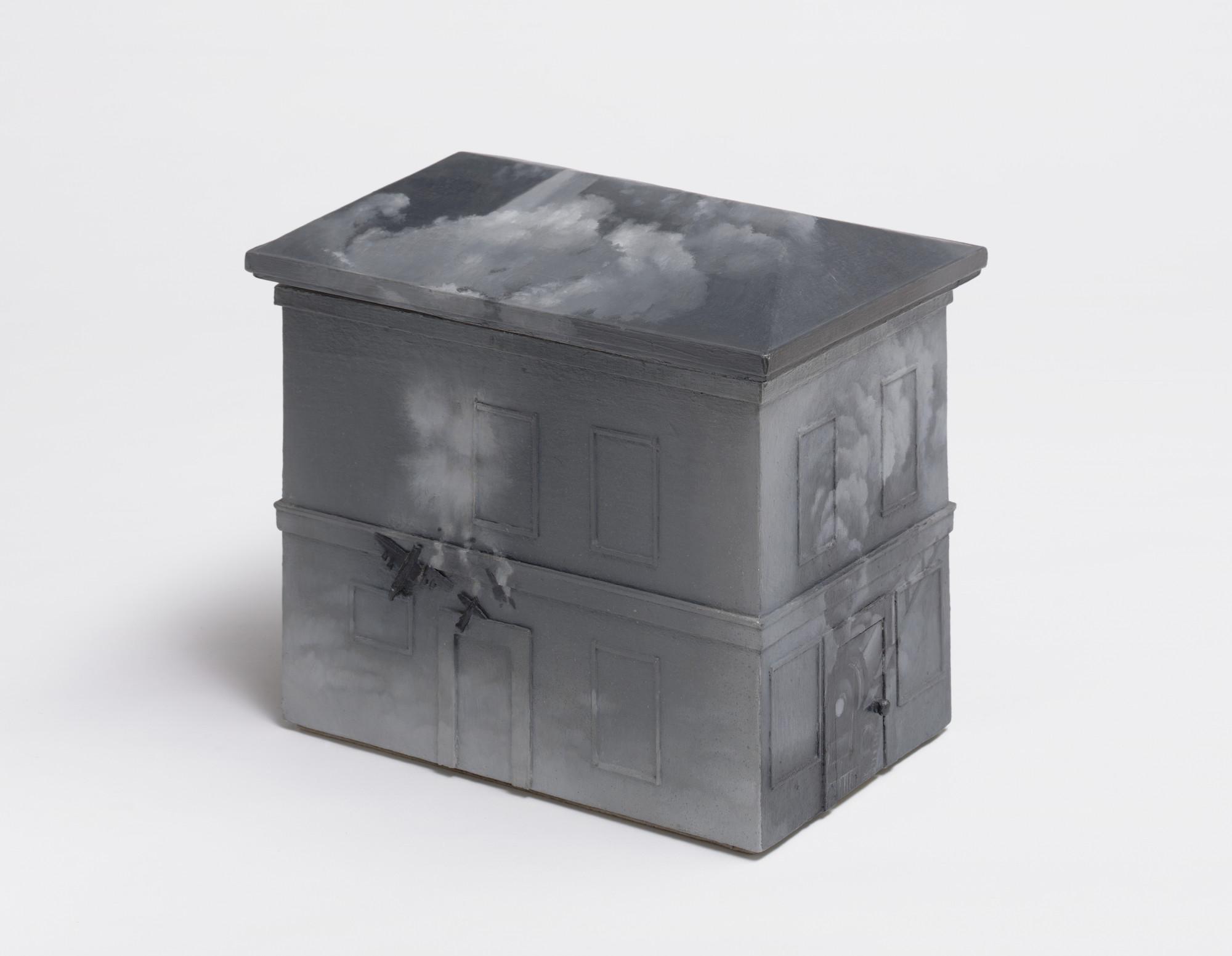 Vija Celmins. House #1. 1965
