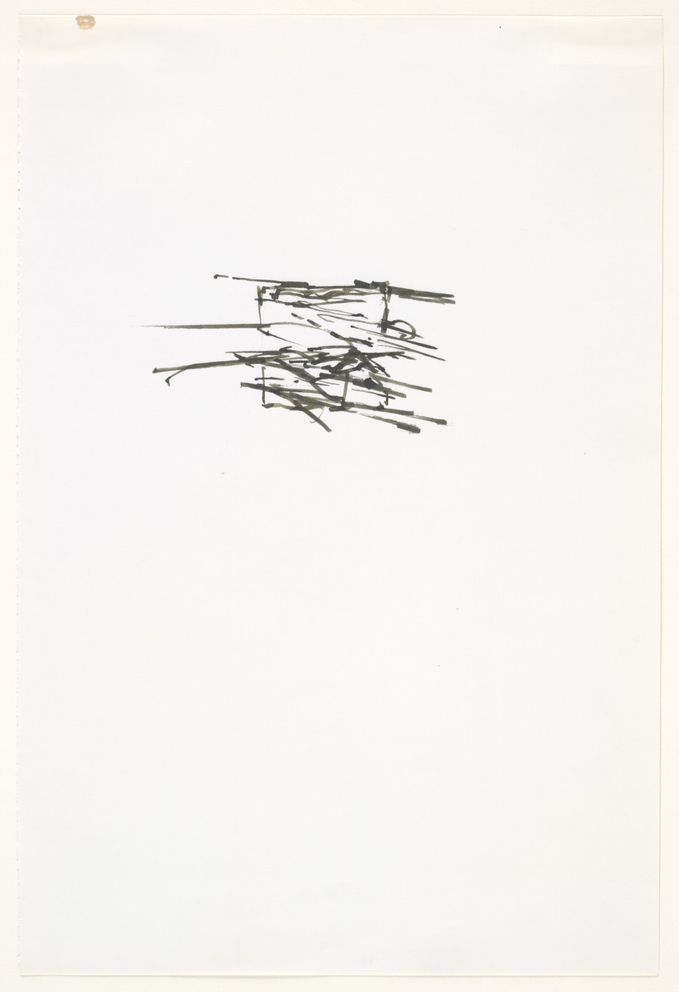 Brice Marden. Greece Summer. (1974)