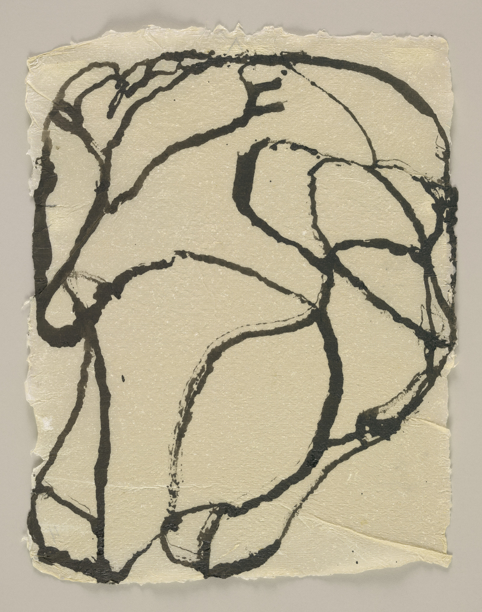 Brice Marden. 4 Howell Paper Drawings. 1996