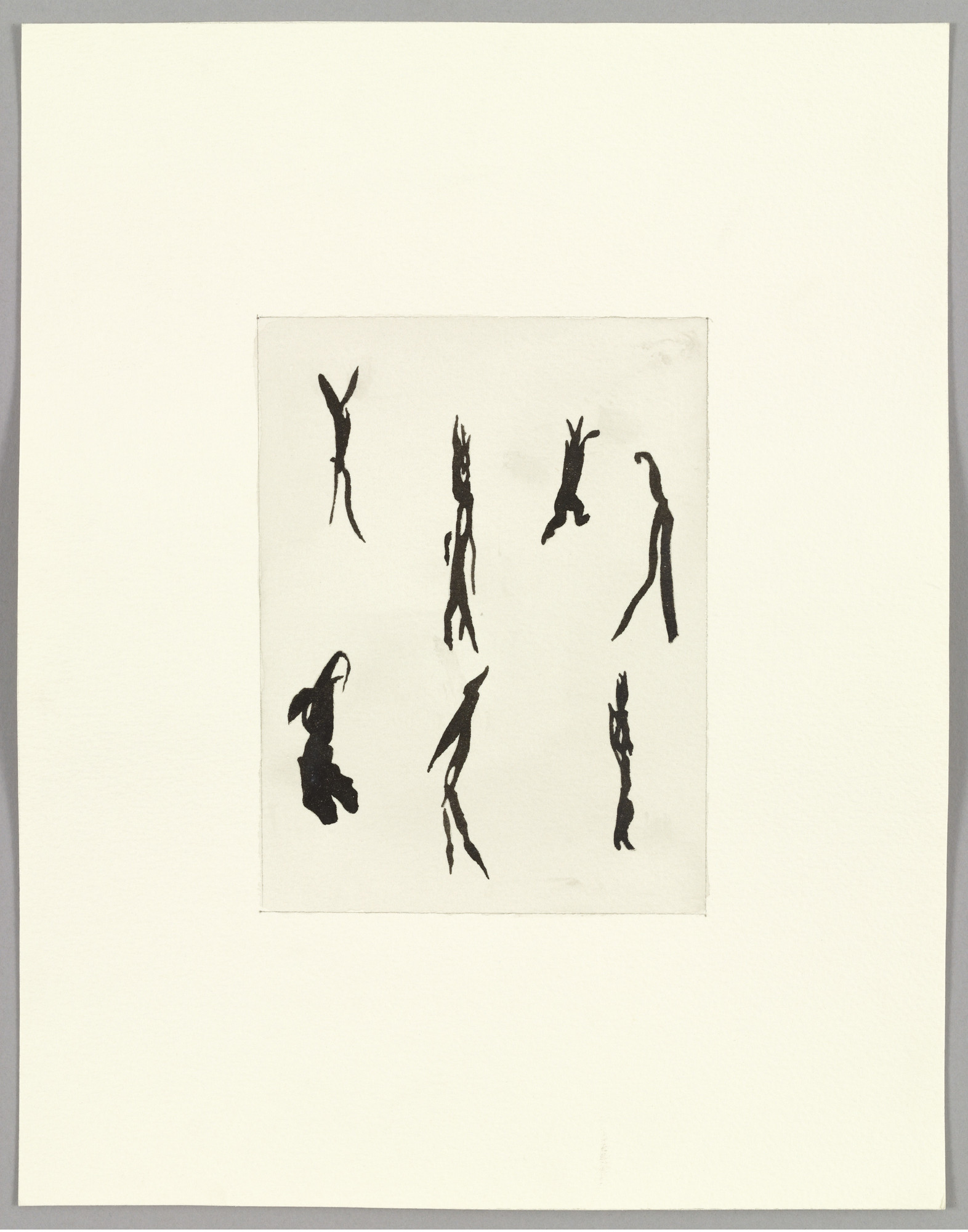 Sherrie Levine. After Henri Michaux: 1-10. 1985