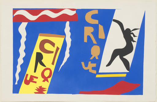 Henri Matisse. Circus (Le Cirque) from Jazz. 1947