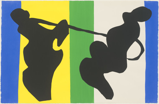 Henri Matisse. The Cowboy (Le Cow-boy) from Jazz. 1947