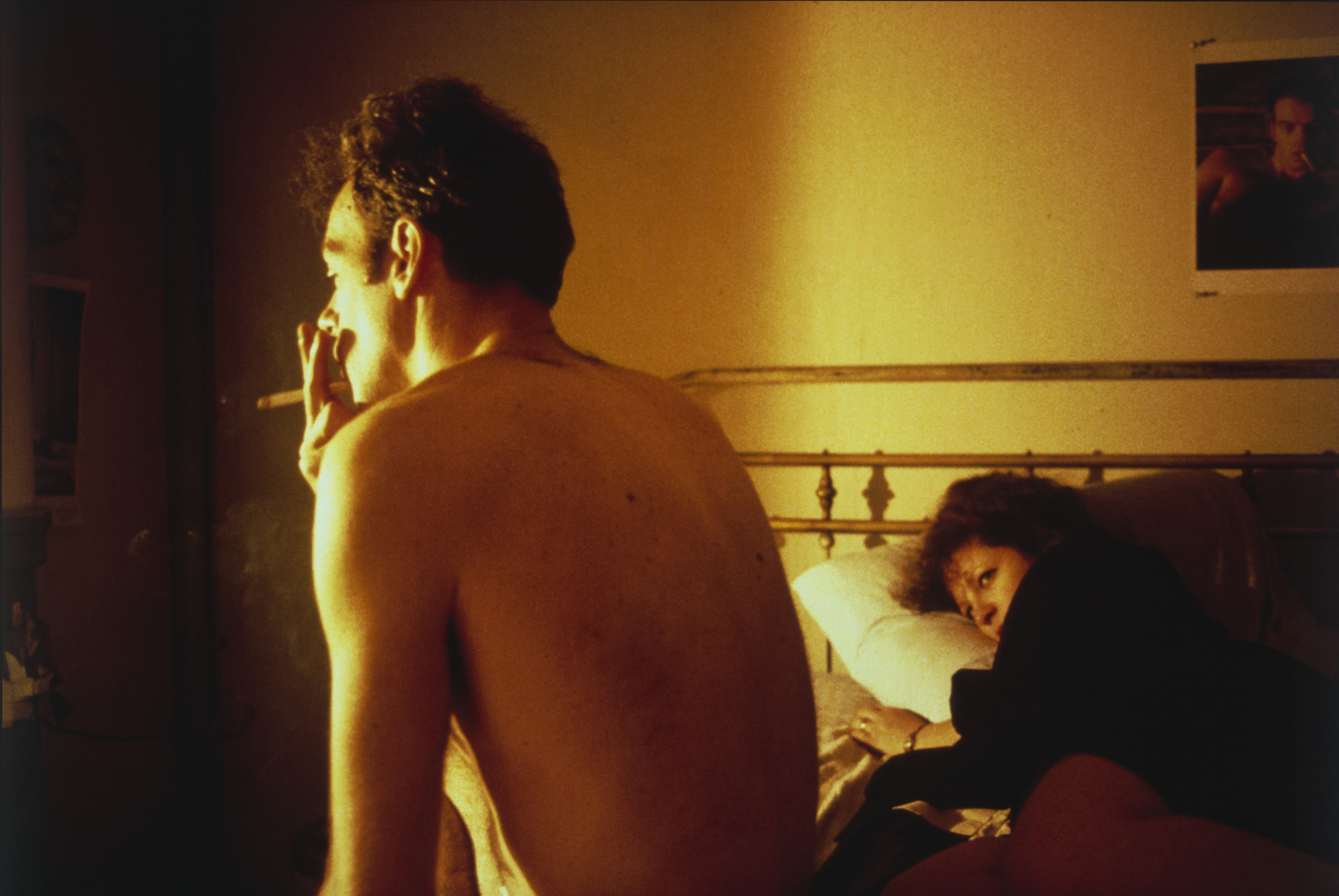 Nan Goldin. Nan and Brian in Bed, New York City. 1983